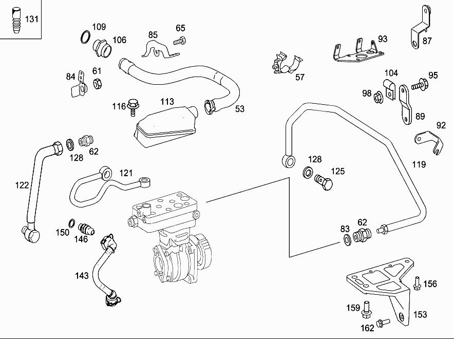 M 457 981 - AIR COMPRESSOR > Mercedes EPC Online