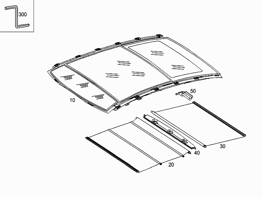 FG 203 756 - PANORAMIC ROOF > Mercedes EPC Online