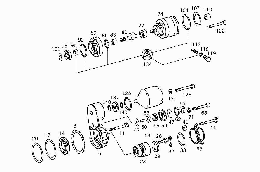 power steering pump drive