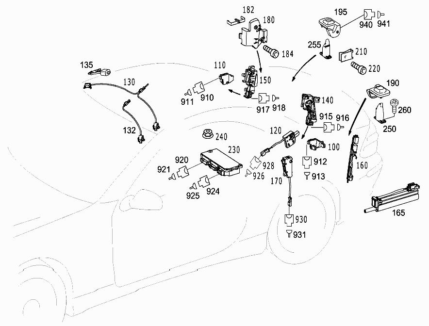 FG 230 456 - VARIO ROOF CONTROL > Mercedes EPC Online