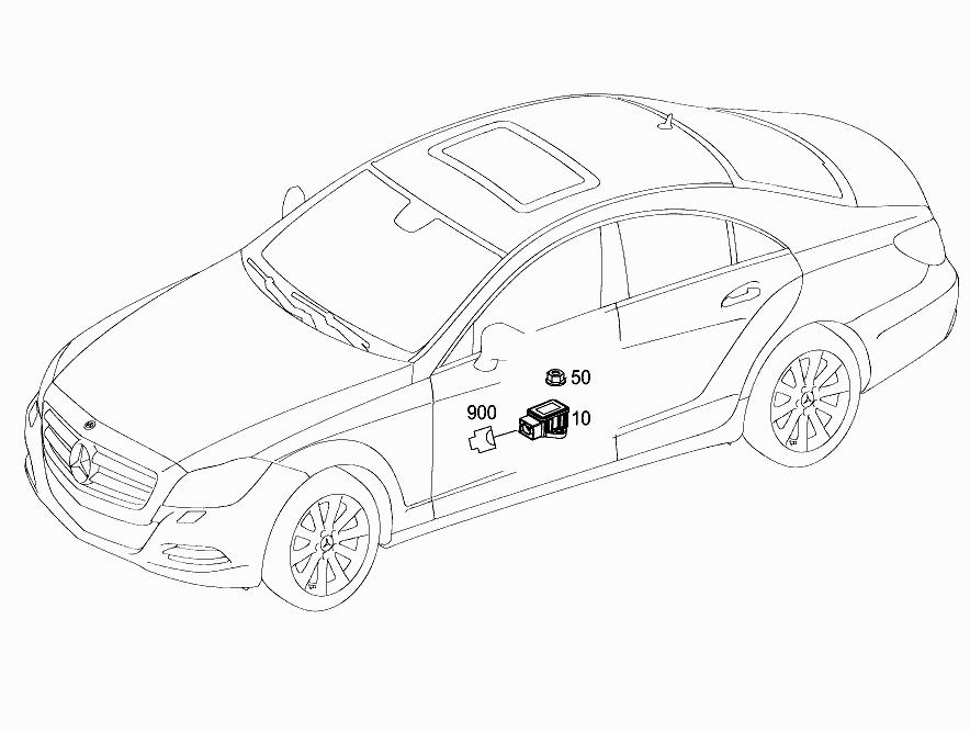 FG 218 361 - ELECTRONIC STABILITY PROGRAM (ESP) > Mercedes
