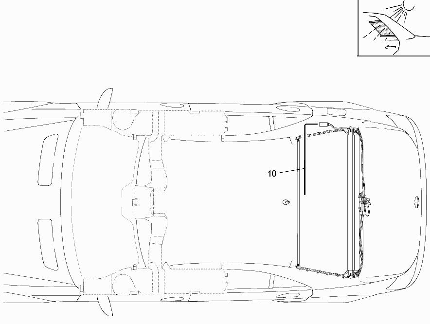 FG 221 173 - REAR WINDOW ROLLER BLIND > Mercedes EPC Online