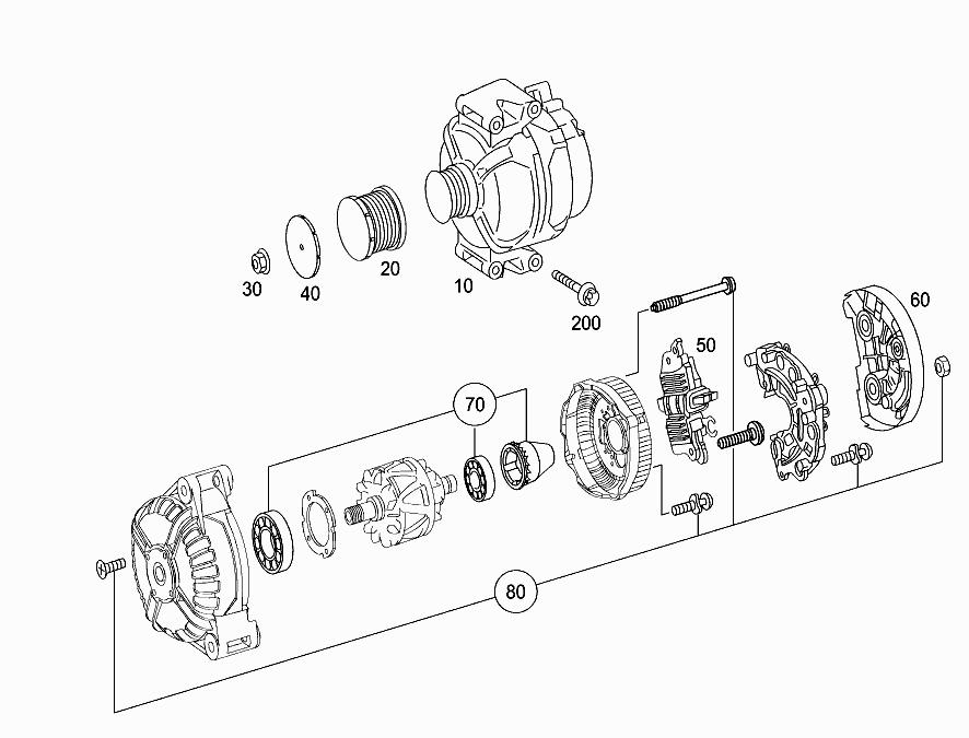 FG 204 007 - ALTERNATOR > Mercedes EPC Online > nemigaparts com