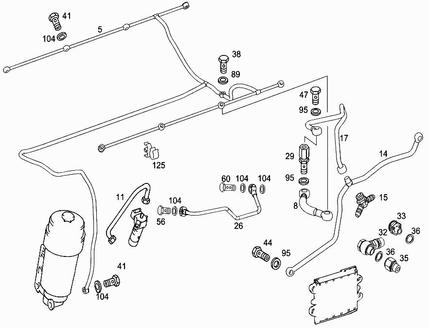 M 542 966 - FUEL LINES > Mercedes EPC Online > nemigaparts com