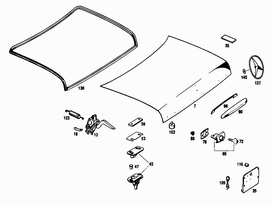 FG 108 016 - OUTSIDE FLAPS > Mercedes EPC Online