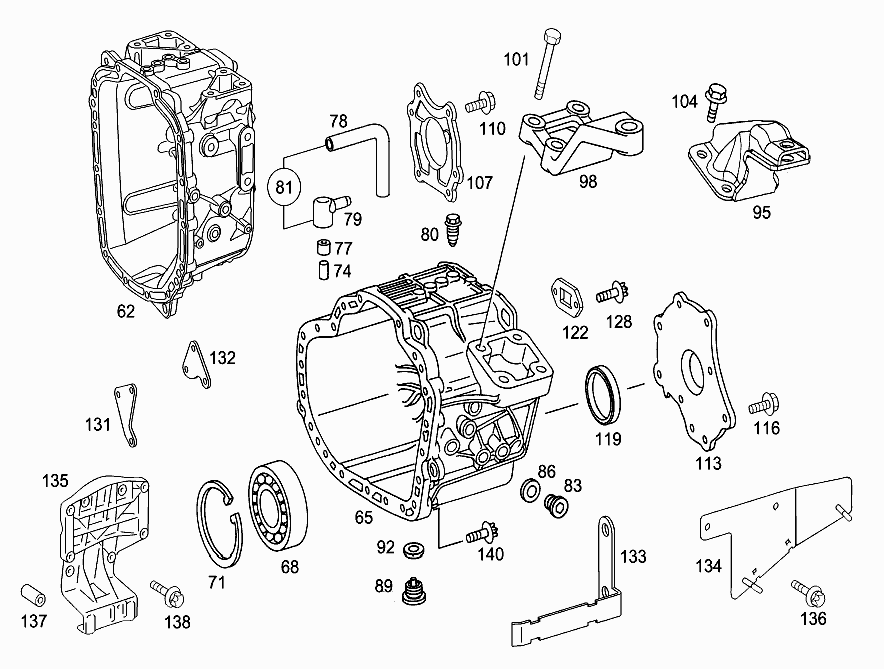 mercedes benz wiring diagrams w107 basic wiring diagram SL40 Mercedes transmission case and cover mercedes benz wiring diagrams w107 at nayabfun