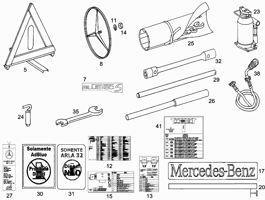 FG 634 061 - TOOLS AND ACCESSORIES > Mercedes EPC Online