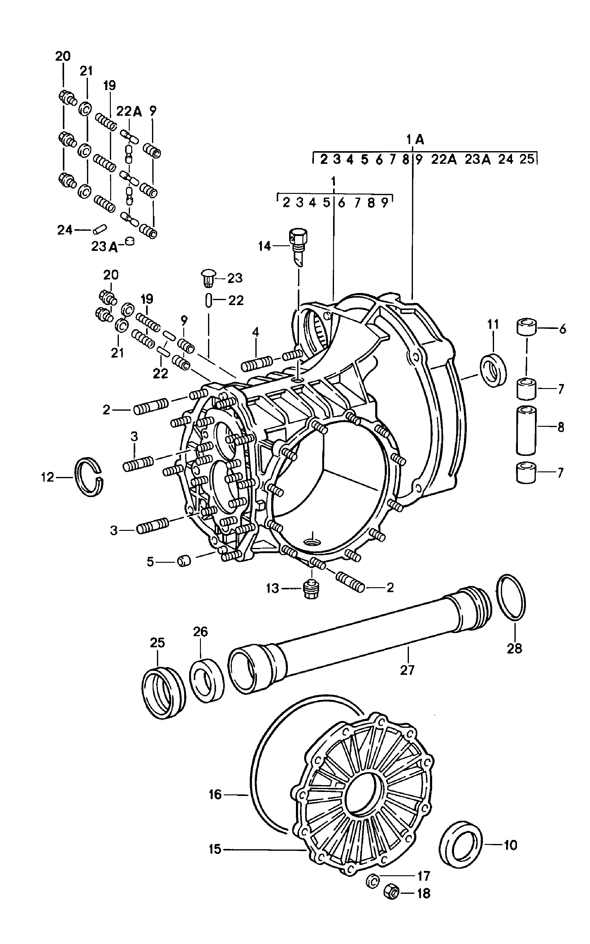 Porsche 901 Transmission Diagram Schematic Diagrams 911 1978 1983 Case Replacement Linkage