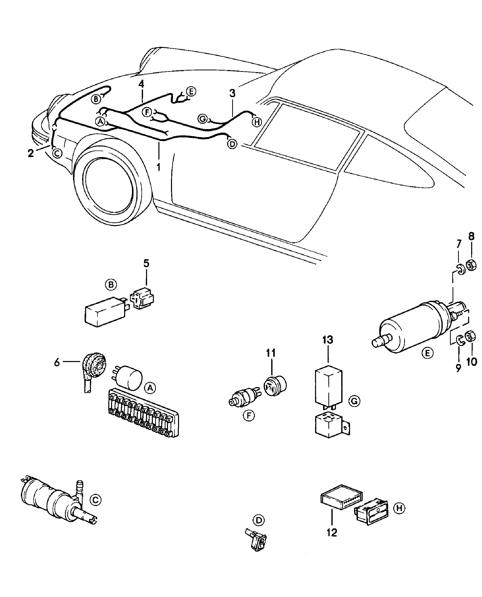 porsche 911  1978 - 1983