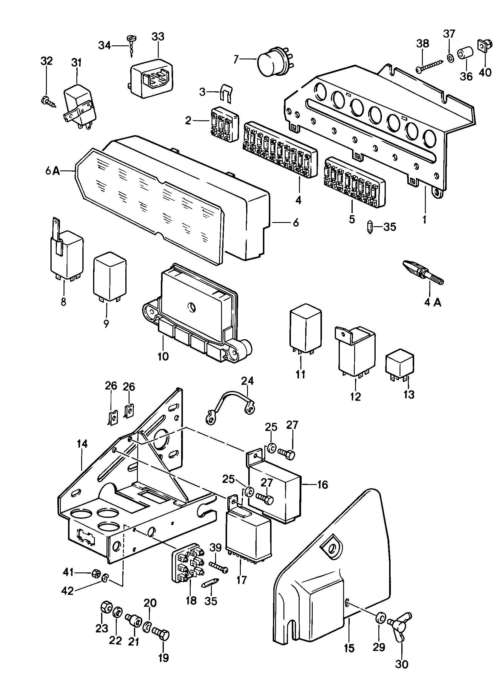 1989 porsche 911 fuse box diagram