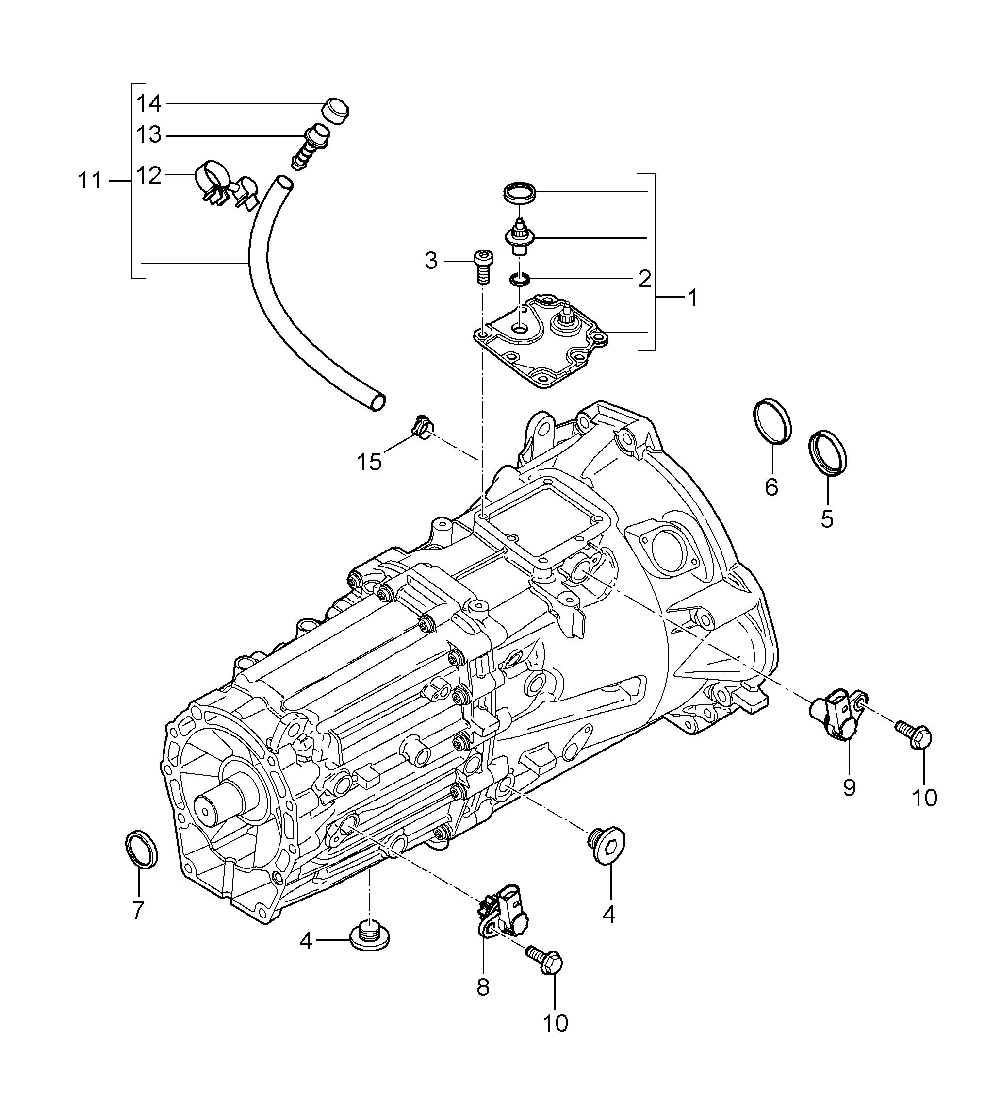 2006 Porsche Cayenne Transmission
