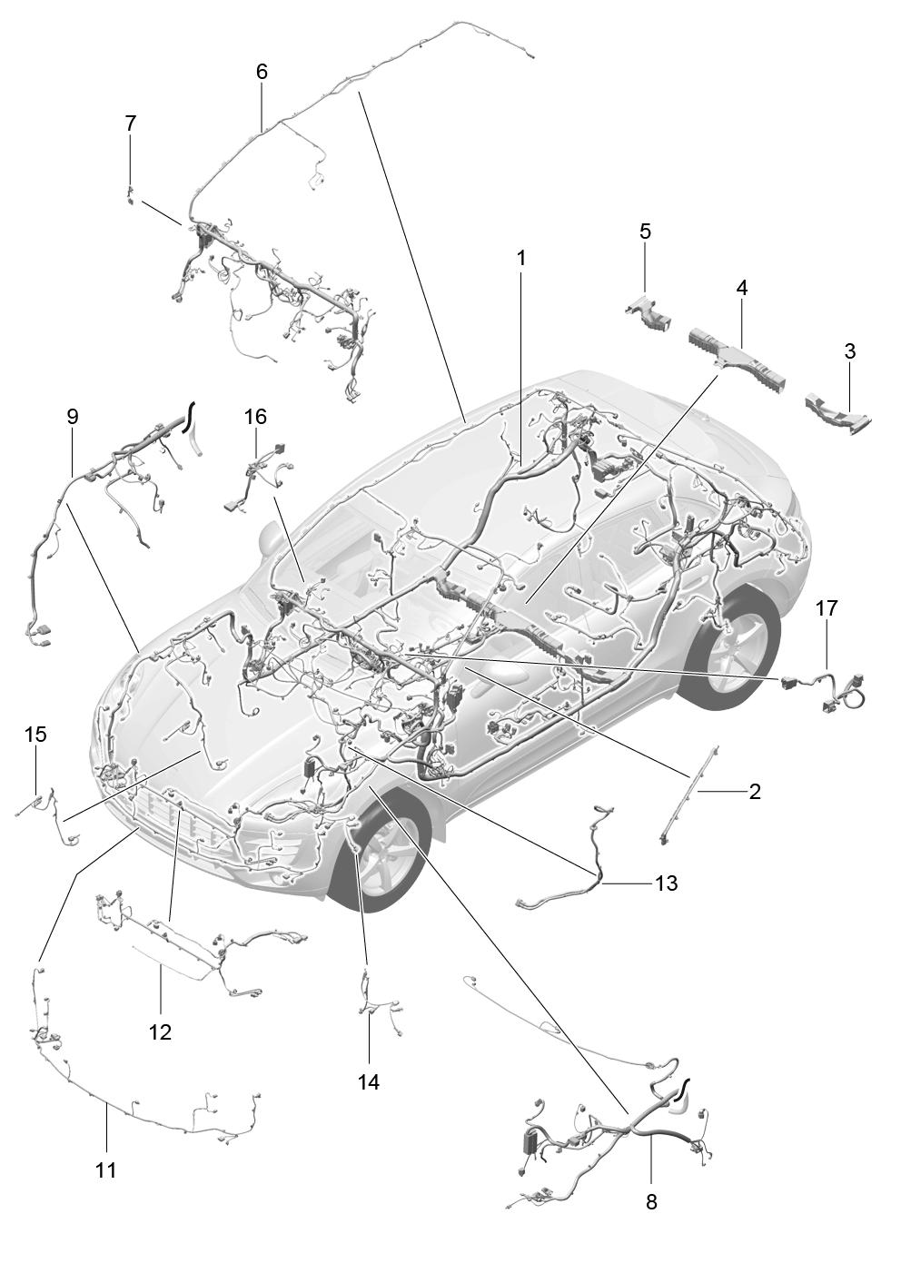 Diagram  Porsche Macan 2017 Wiring Diagram Full Version