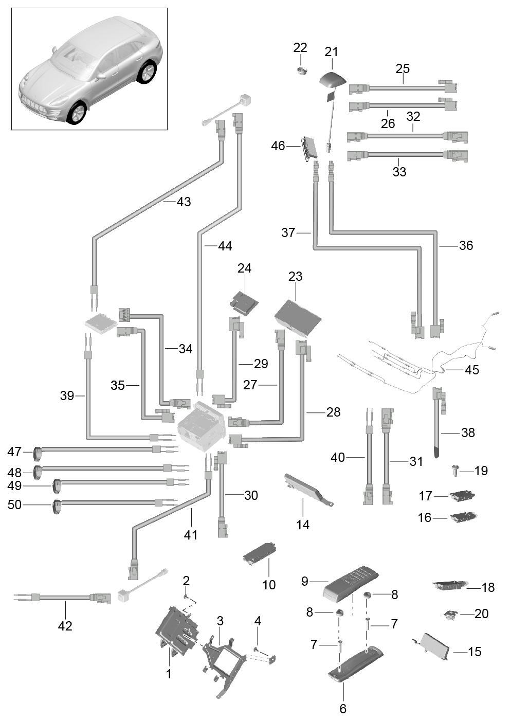 Porsche Macan (2014 - 2017) / Porsche PET