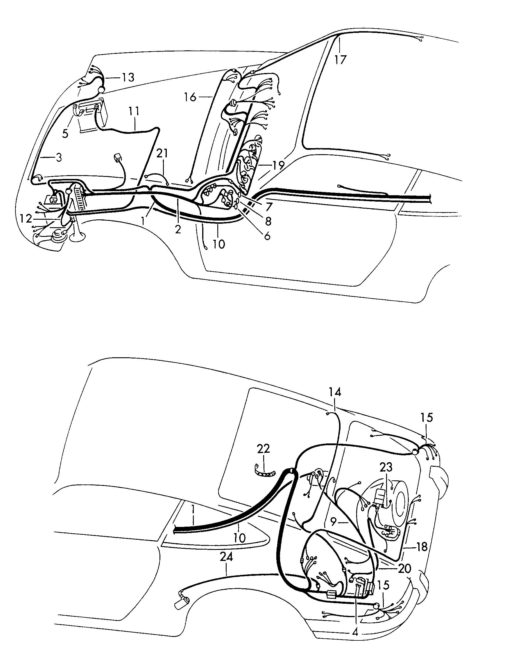 Wiring Harness 1973 Porsche 911 - Wiring Diagramsleboisenchante.fr