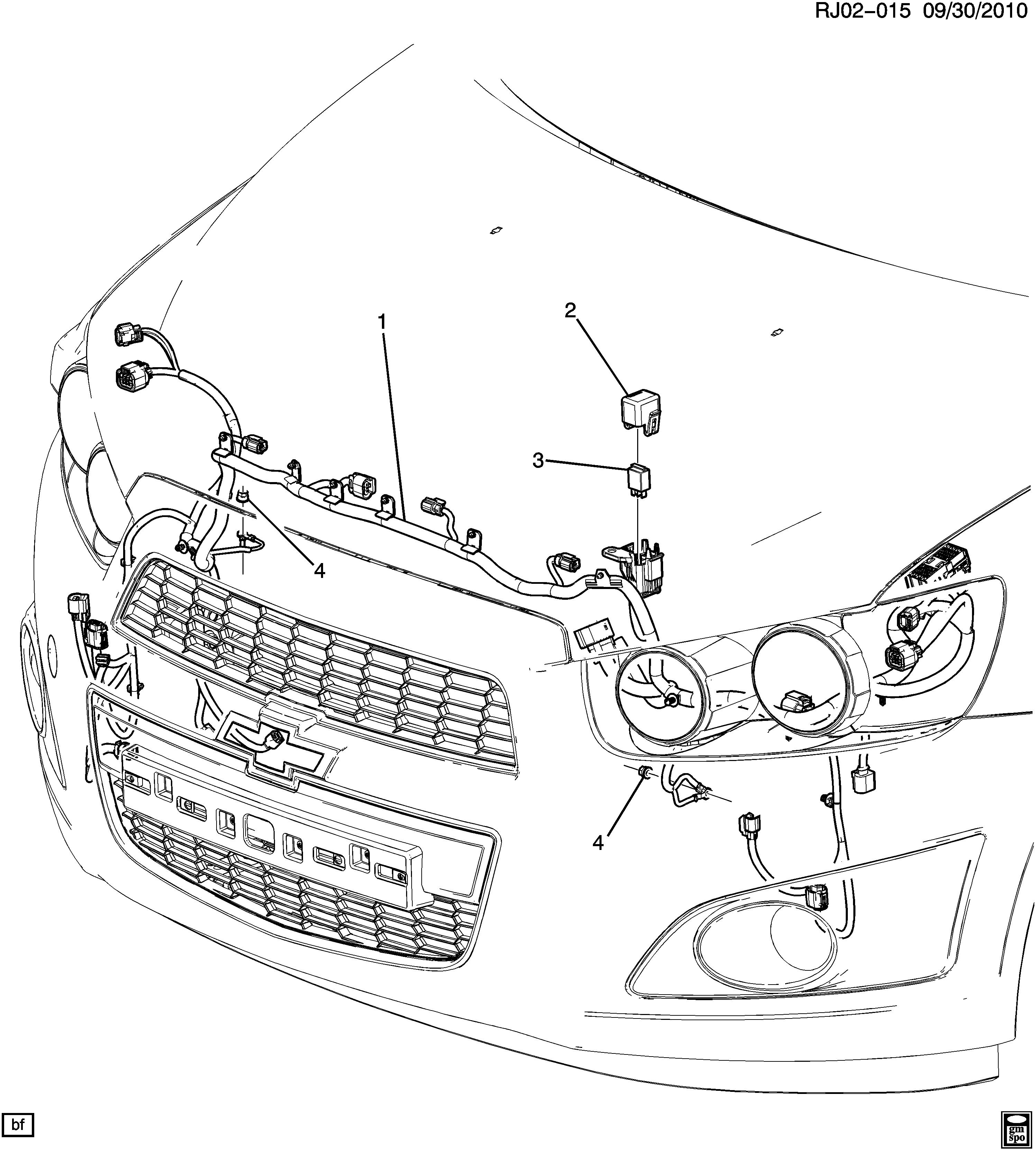 Aveo  T300   Front Lamps  U0026gt  Chevrolet Epc