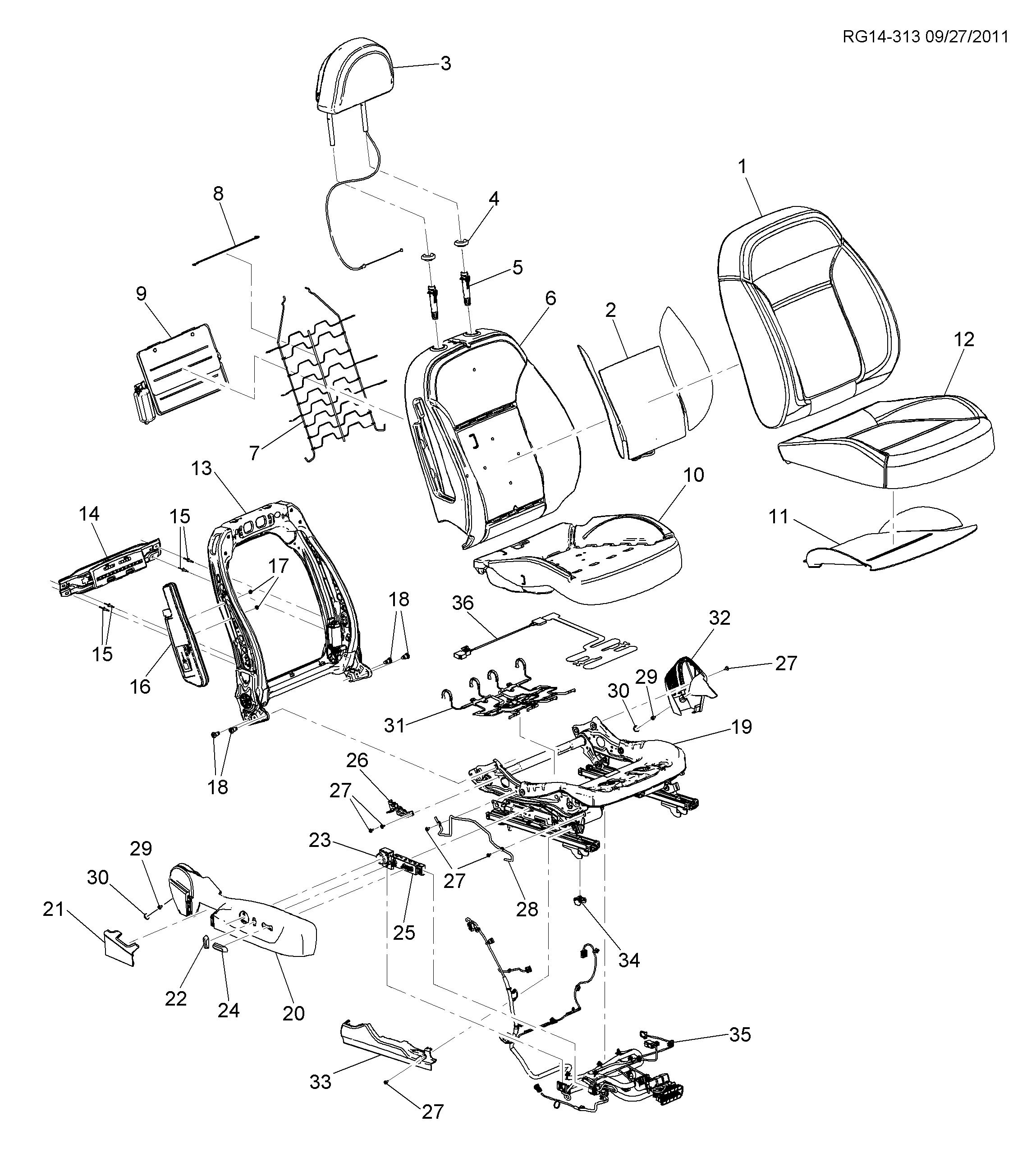 malibu / spare parts catalog epc