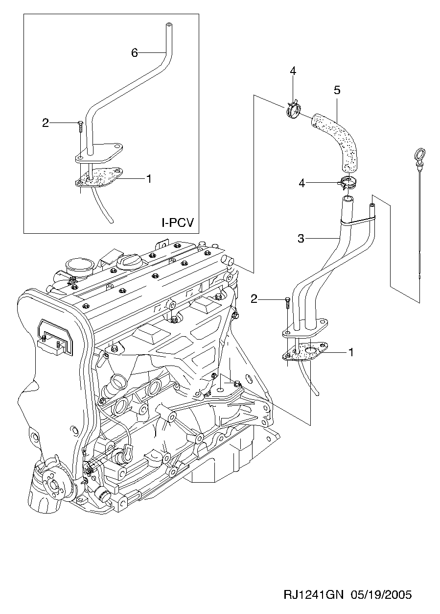 Oil Filler Cap N492XK for Astra L300 LS2 LW2 LW300 Vue 2008 2000 2001 2002 2003