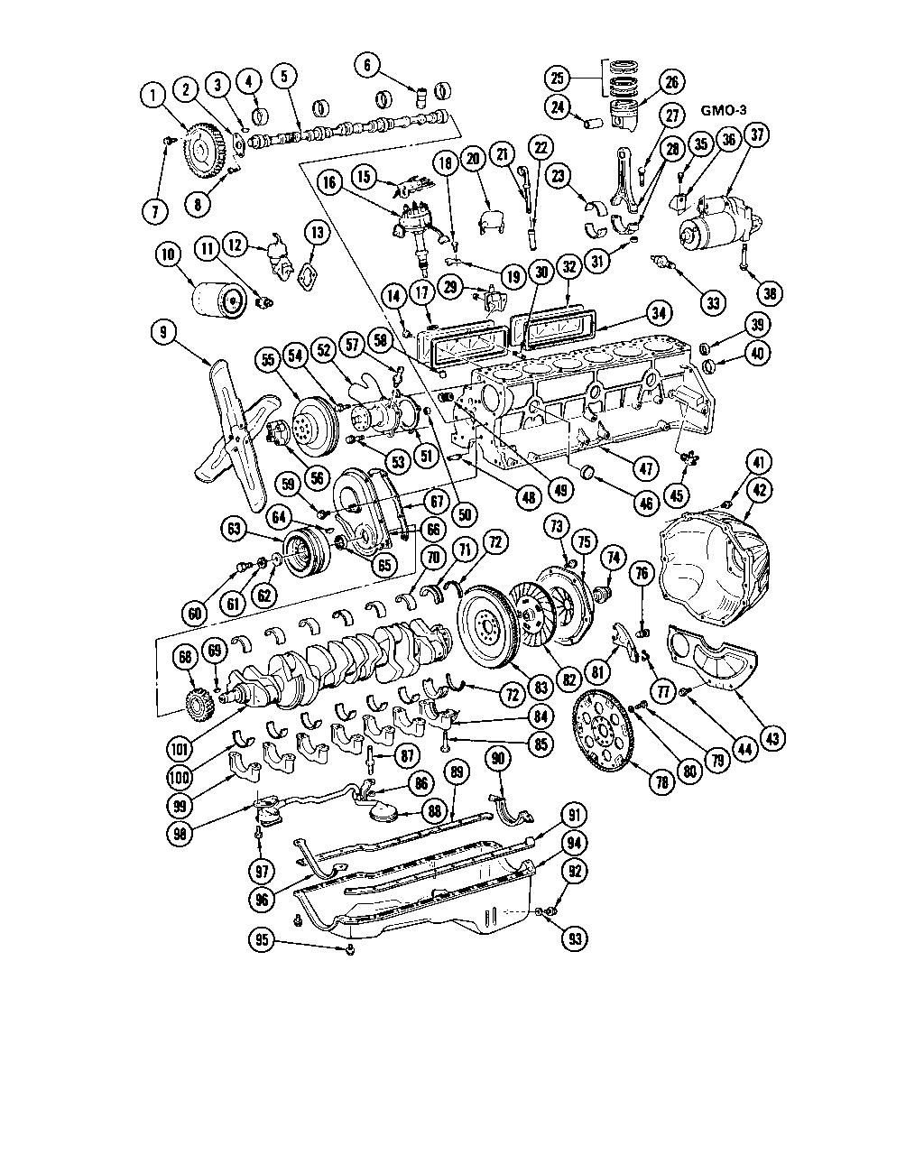 Chevette L6 Engine Part I Chevrolet Epc Online Nemigacom Diagram