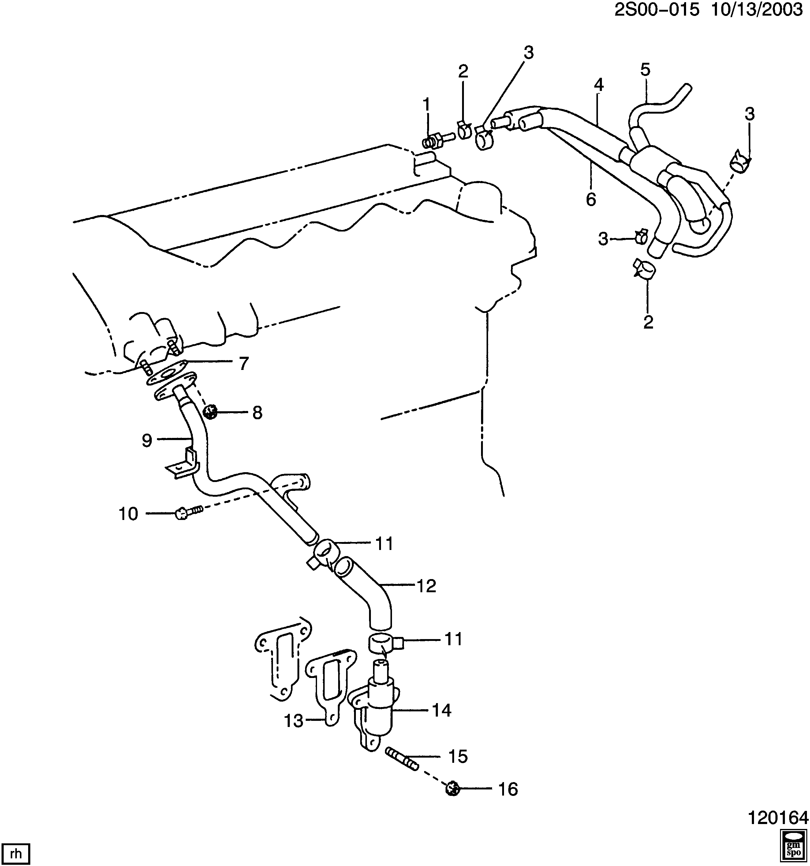 2003 pontiac vibe engine diagram