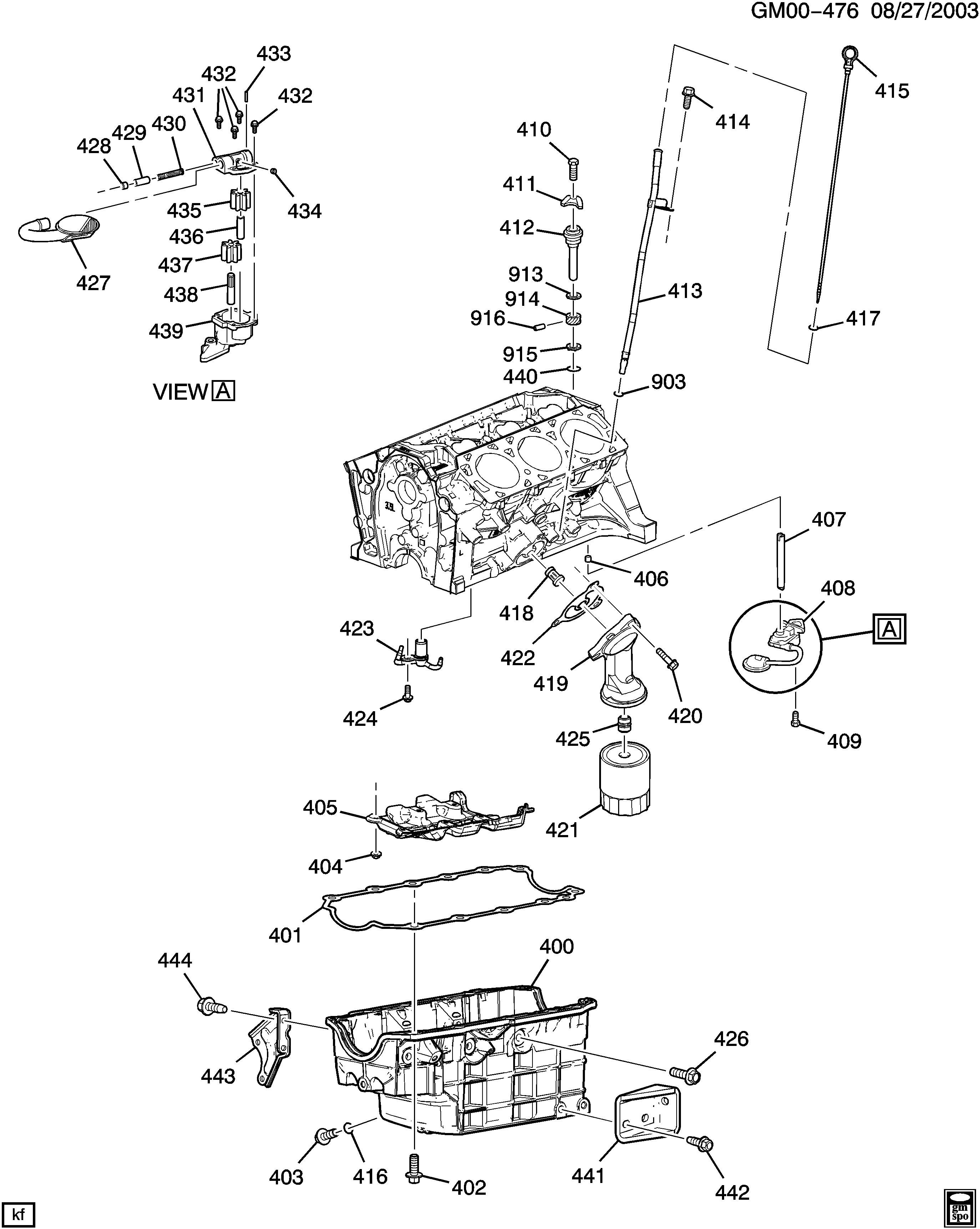pontiac g6 - z engine asm-3.5l v6 part 4 oil pump,pan and related parts (lx9/3.5-8)  > epc online > nemiga.com  nemigaparts.com