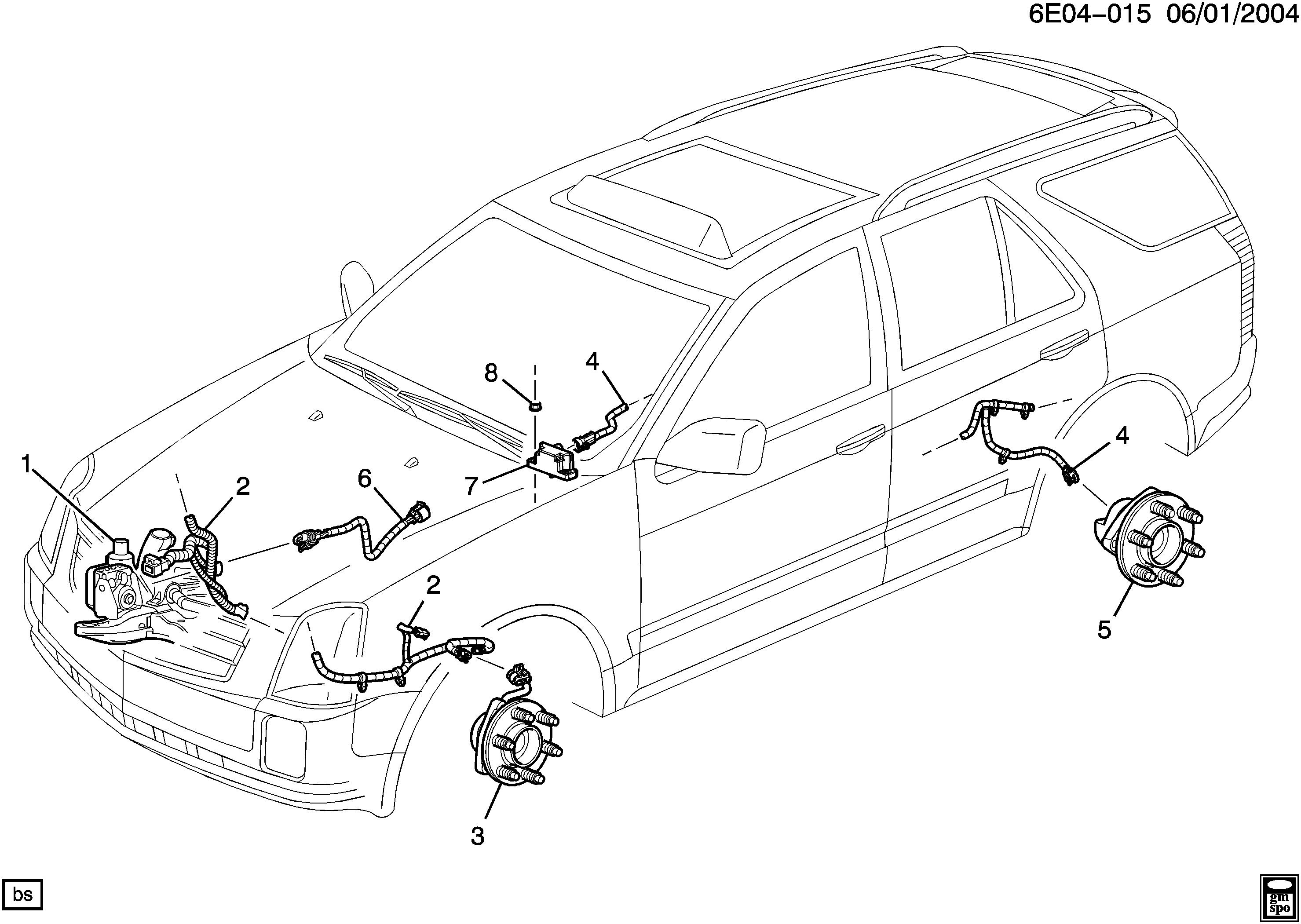 [SCHEMATICS_49CH]   | Cadillac Srx Brake Wiring |  |