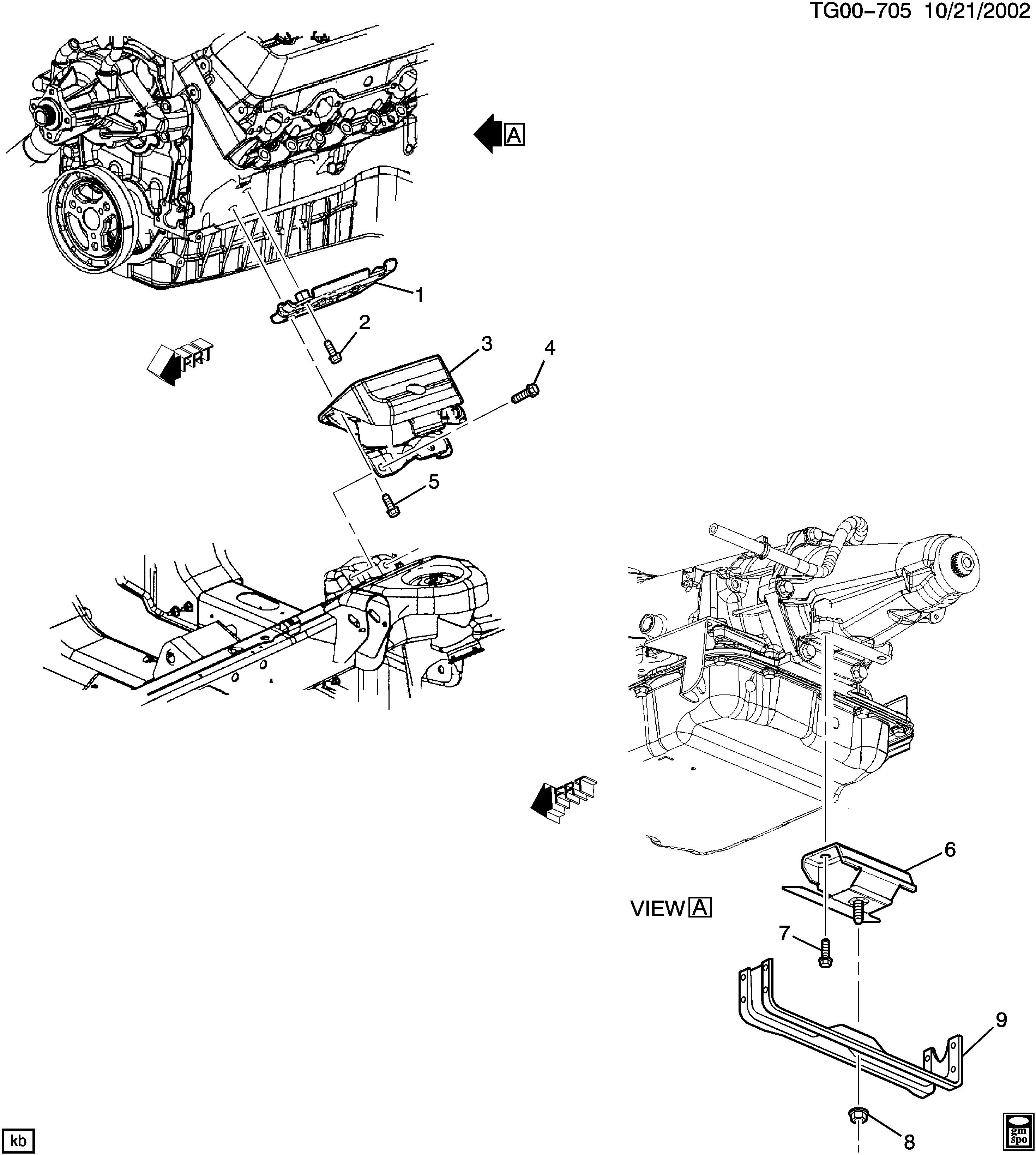 Tran W V6 Engine Diagram