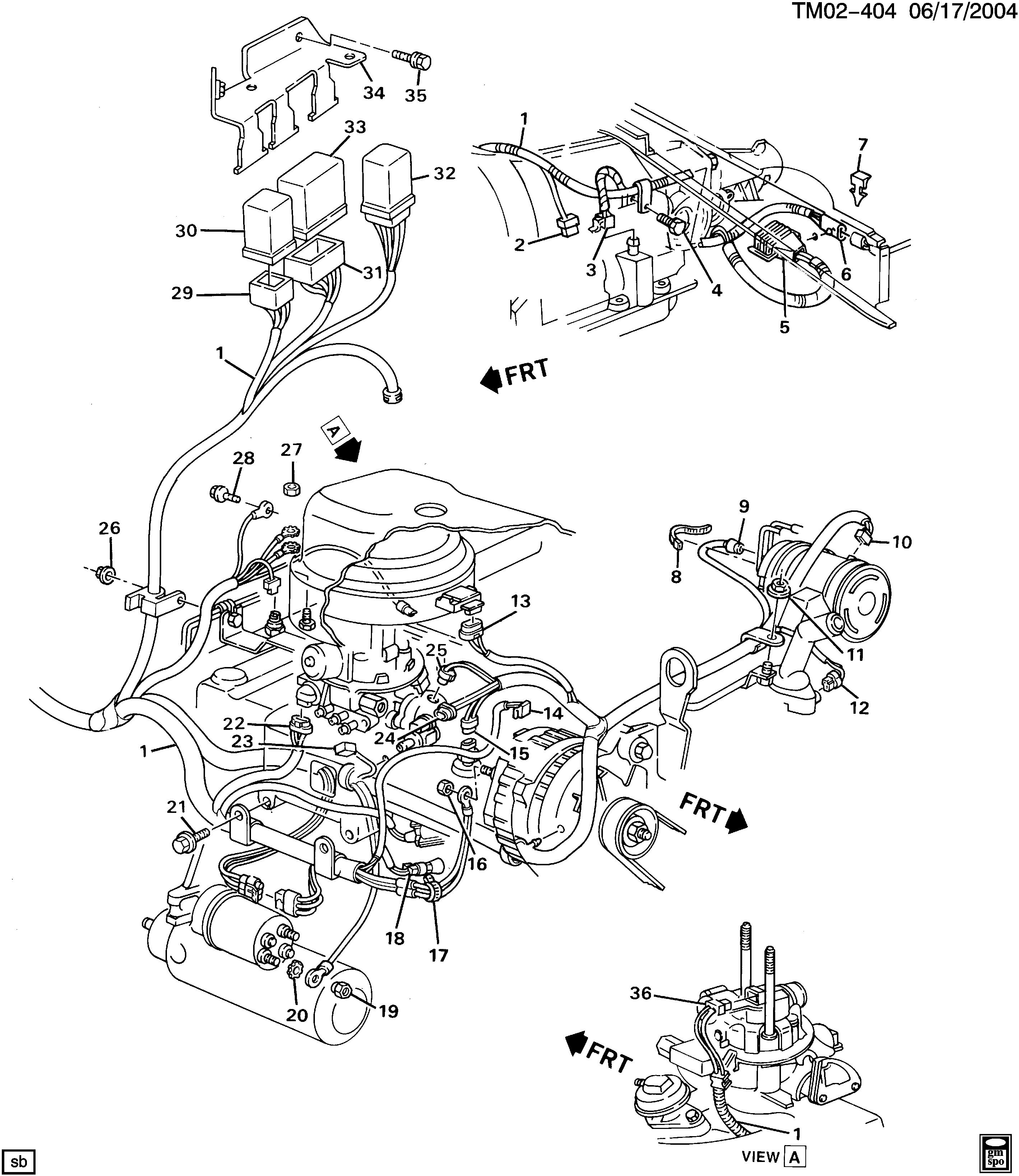 Alumacraft Wiring Harnes