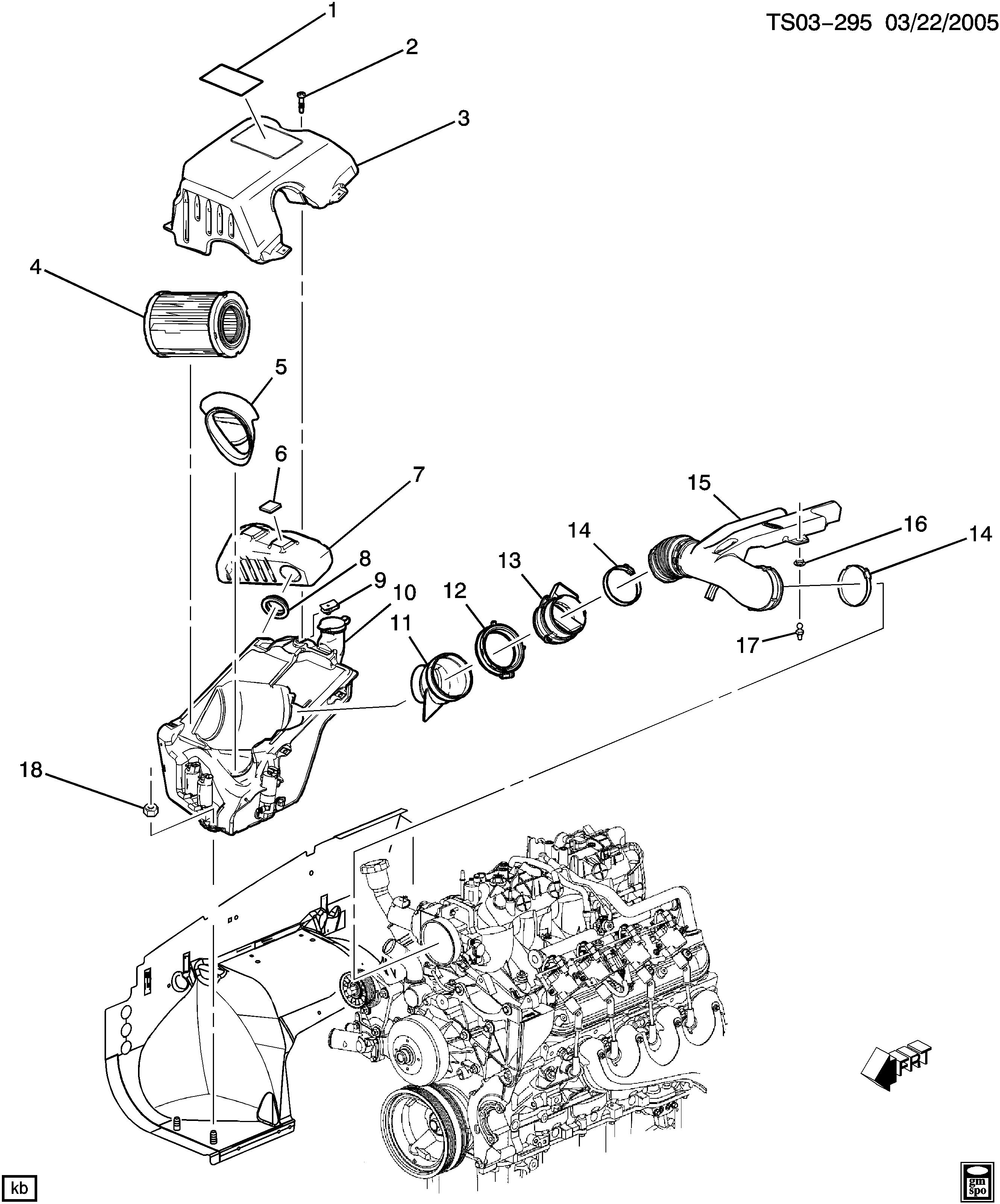 trailblazer 4wd air intake system chevrolet epc online nemiga Chevy Trailblazer Body Parts Diagram
