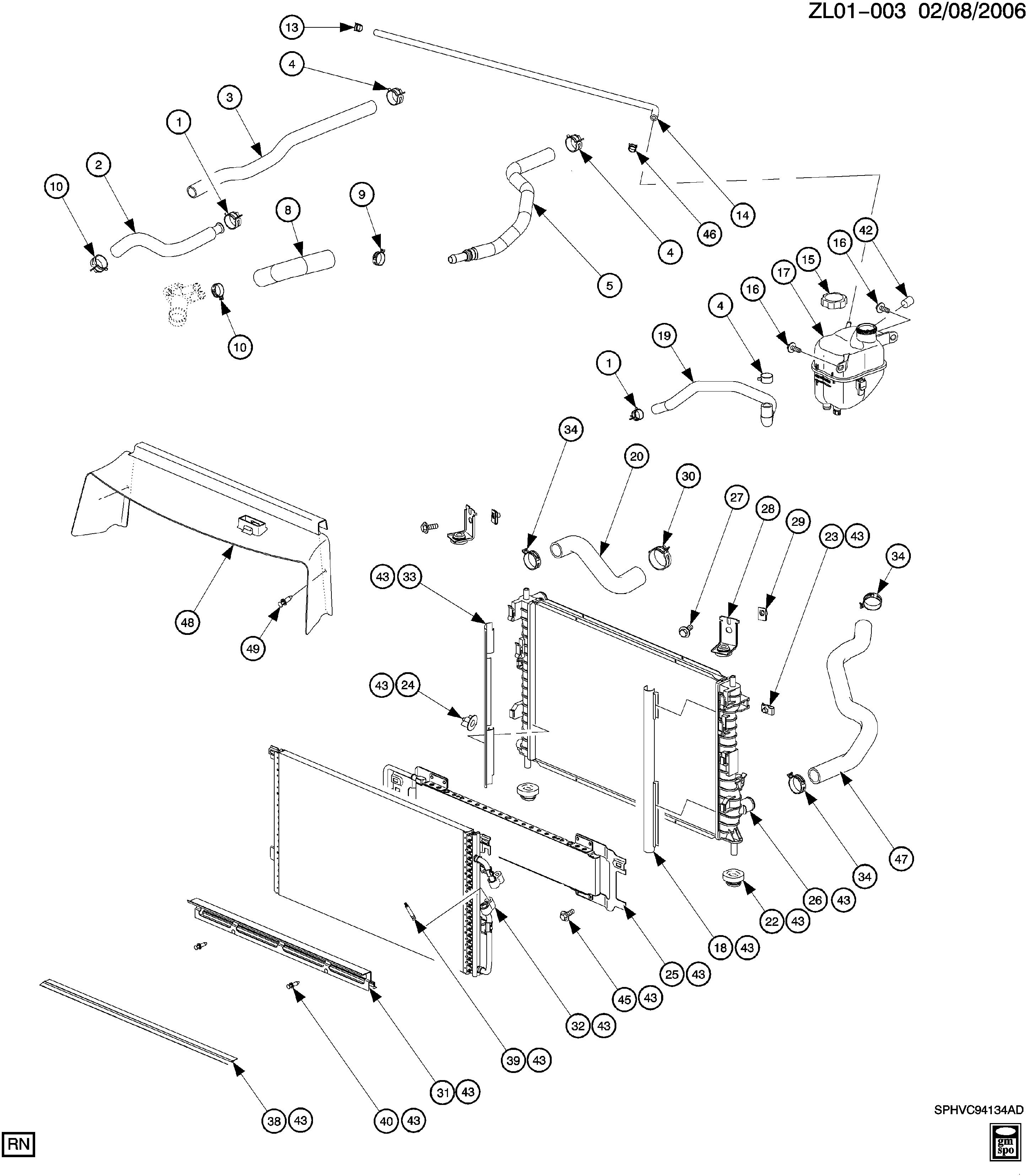 [GJFJ_338]  Saturn Vue - L ENGINE COOLING SYSTEM (L81/3.0B) > EPC Online > Nemiga.com | L81 Engine Diagram |  | nemigaparts.com
