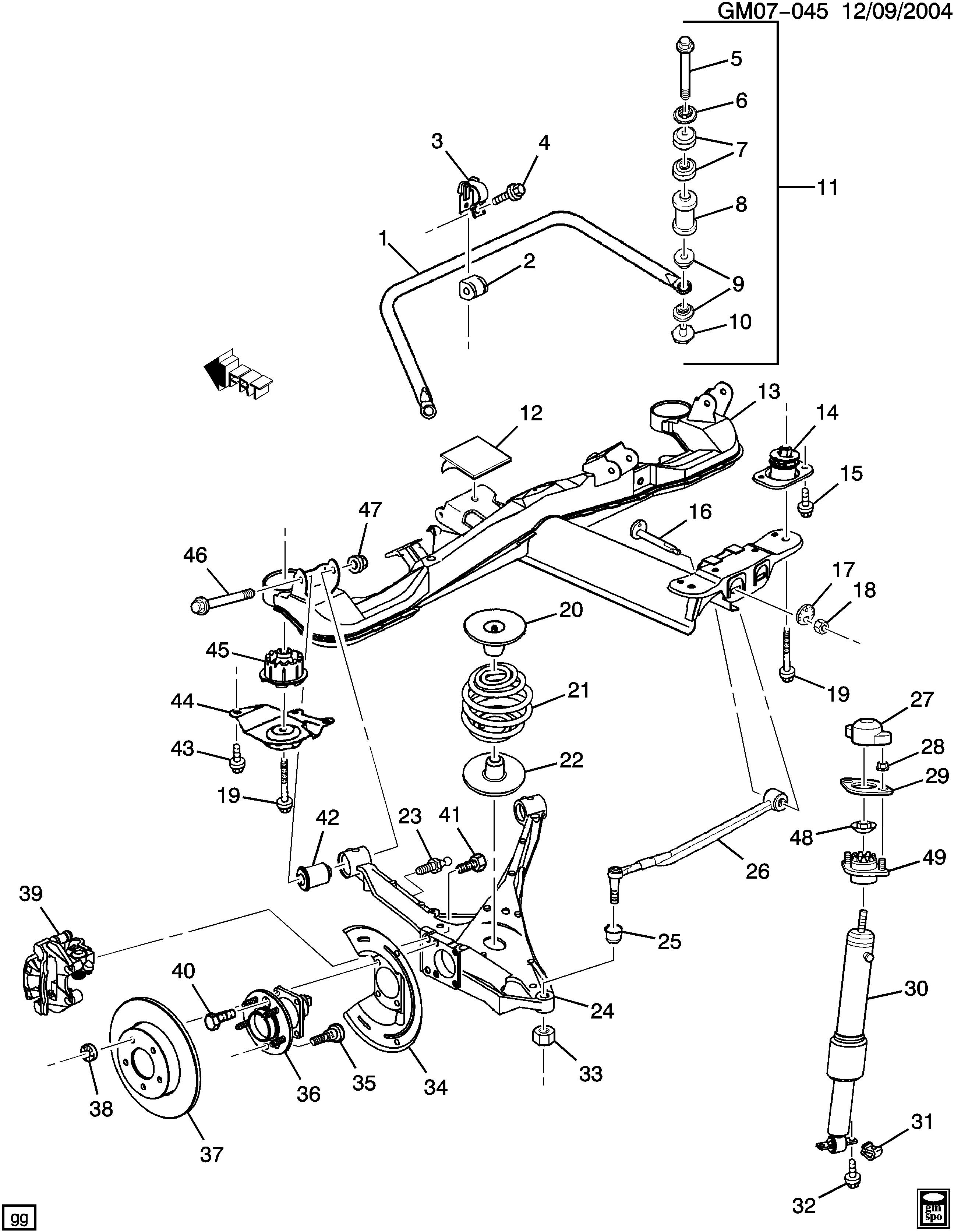 Seananon Jopower 2005 Buick Rendezvous Brake Line Diagram