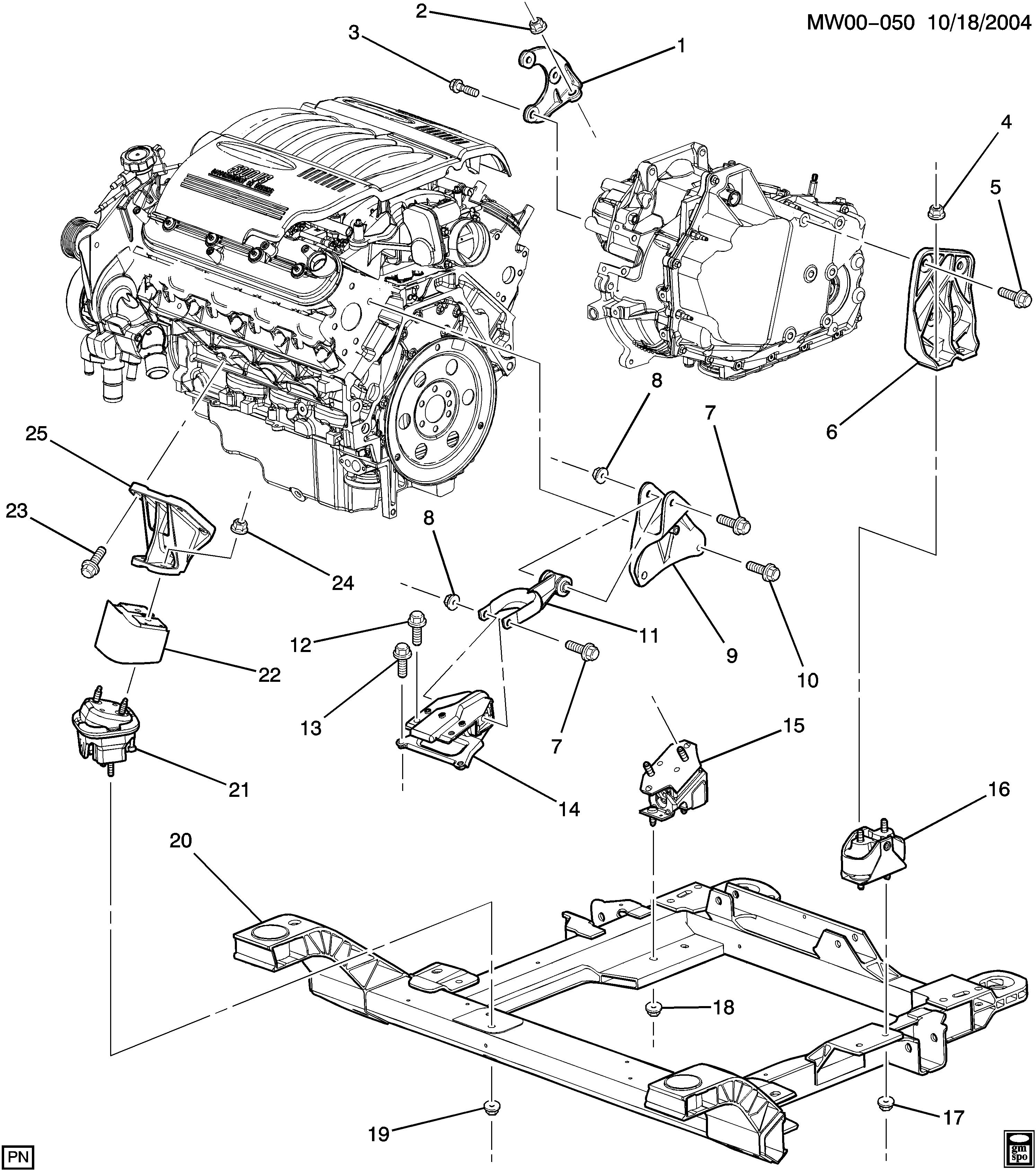 Buick Lacrosse/Allure / Spare parts catalog EPC