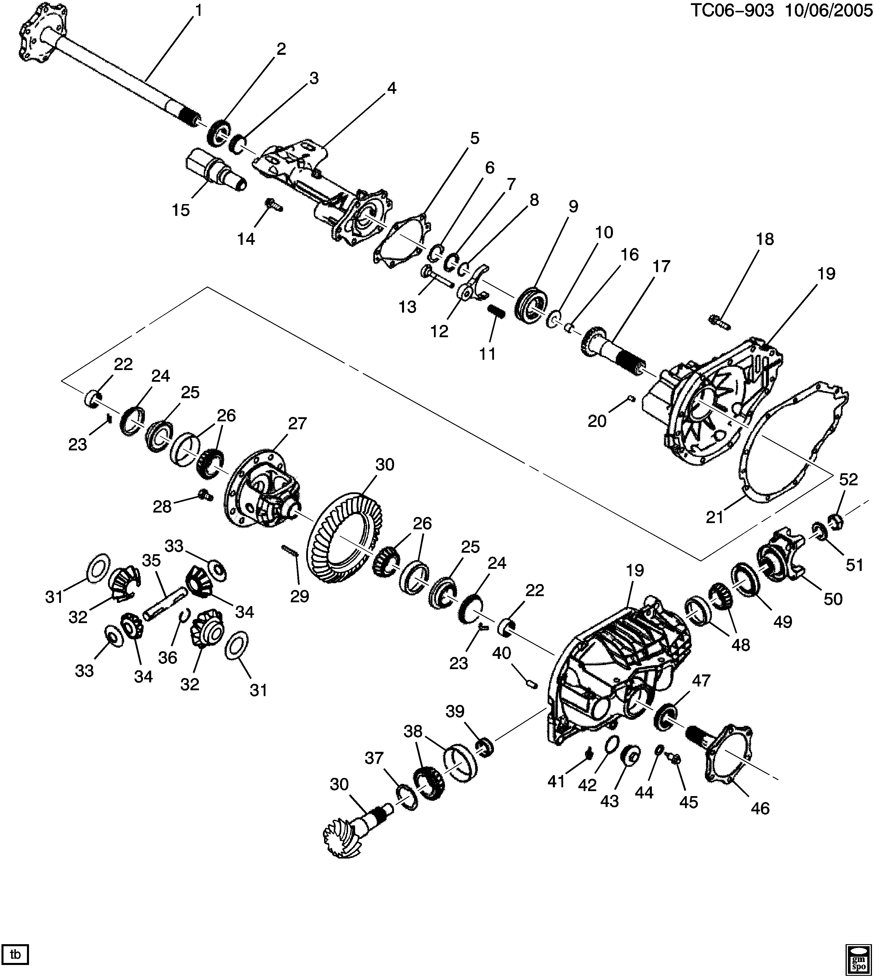 Avalanche 36 Bodystyle 4wd Differential Carrier Front Axle 2001 Lincoln Navigator Wiring Diagram Part 2