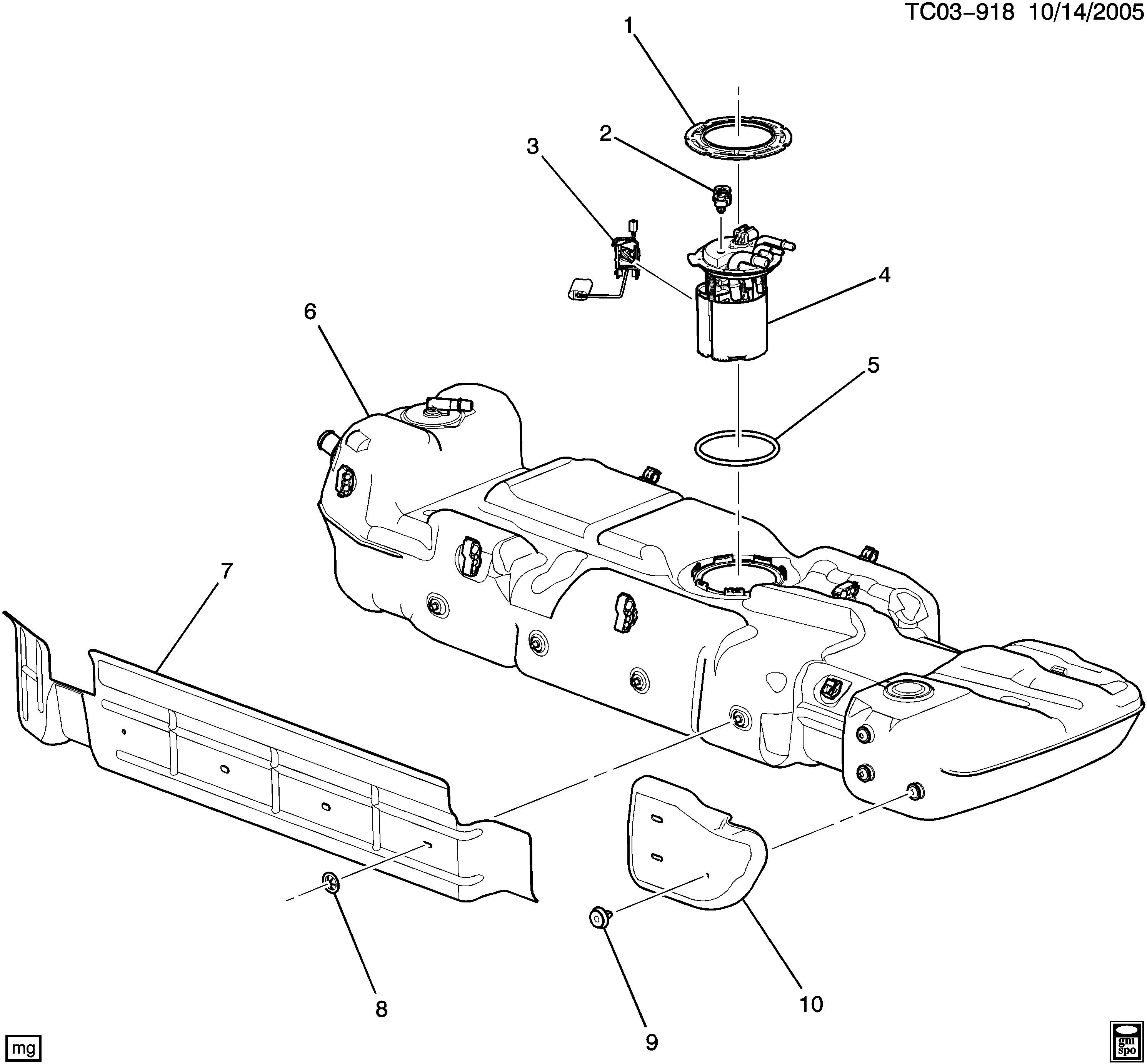 ACDelco SK1157 Fuel Level Sensor