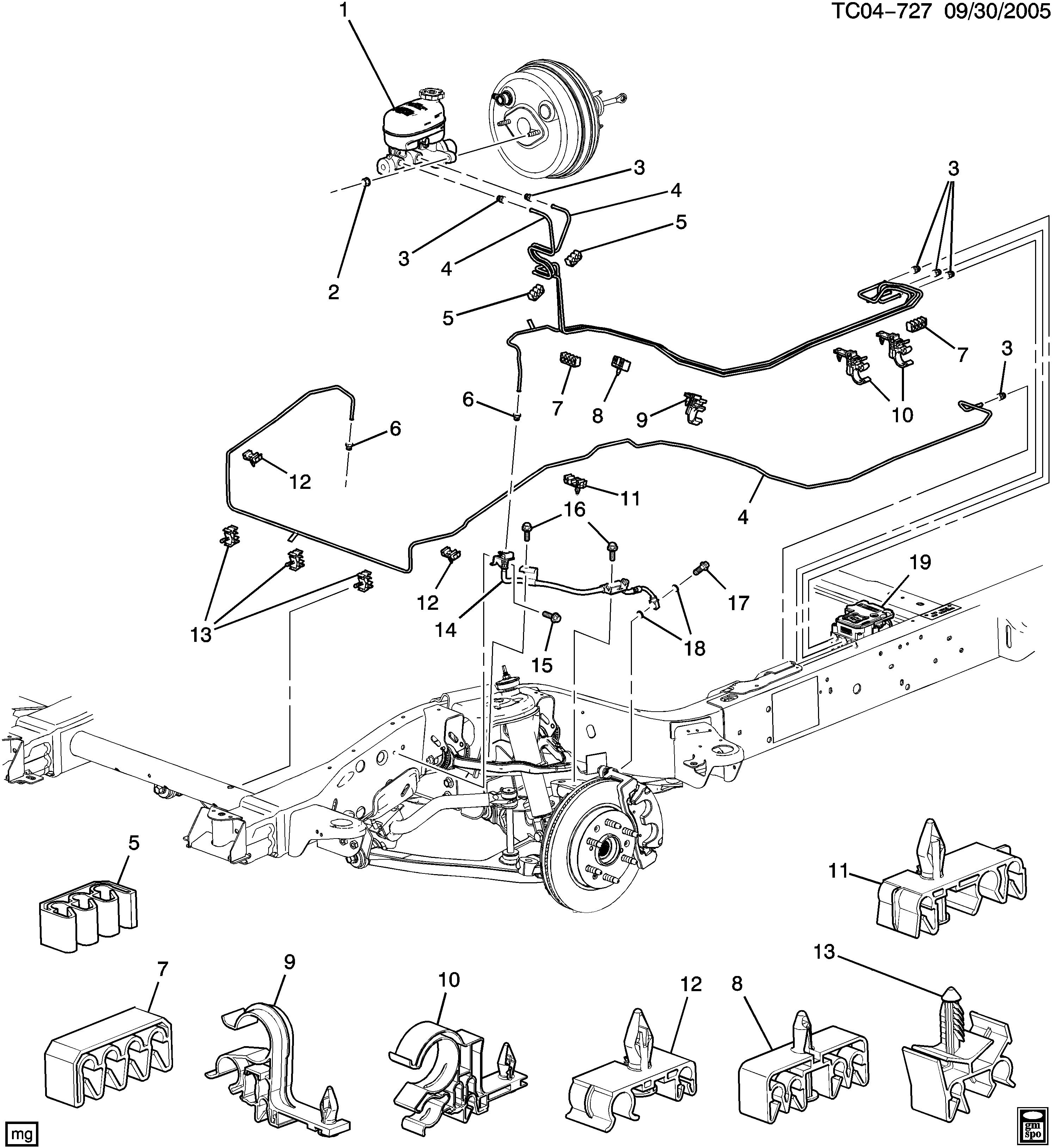 Brake Line Routing Diagram How To Gm Trucks Com