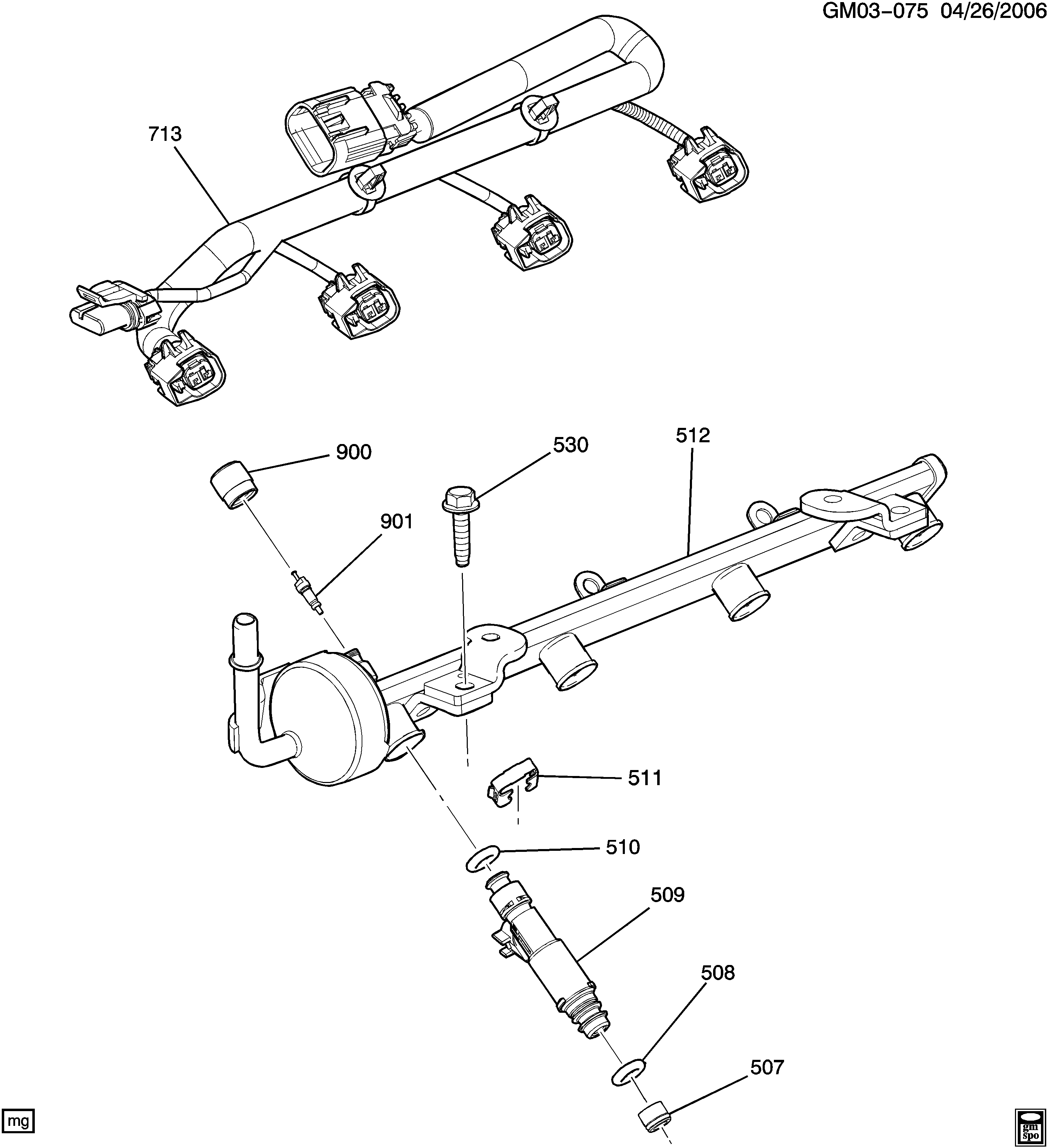 ACDelco 217-3158 New Fuel Injector