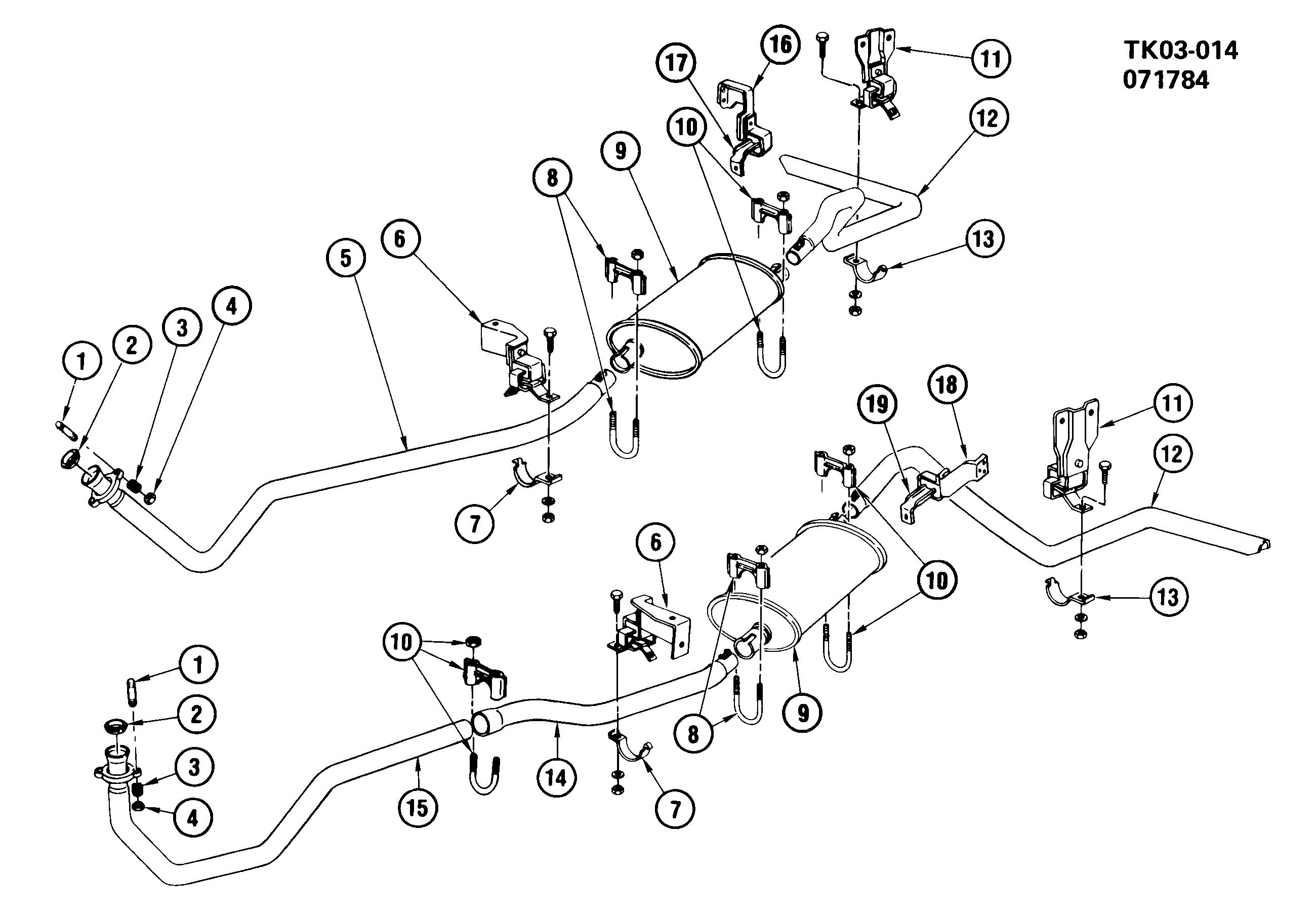 62 Diesel Fuel System Diagram