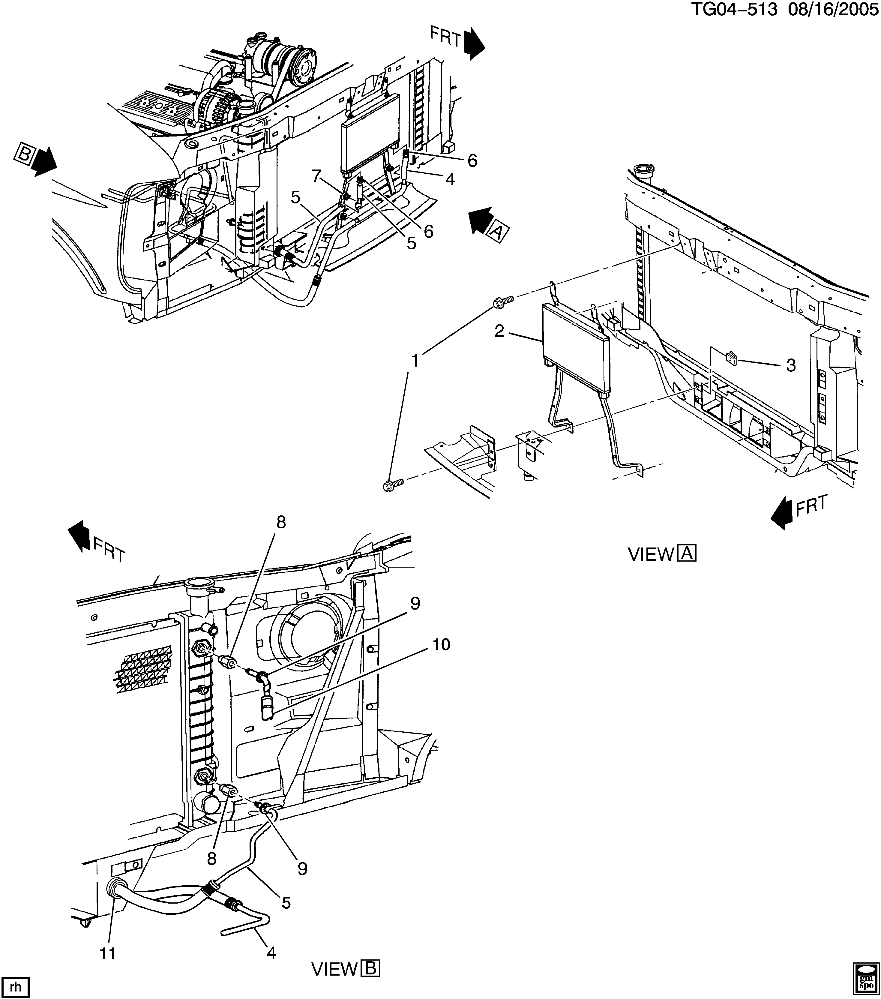 transmission oil cooler schematic
