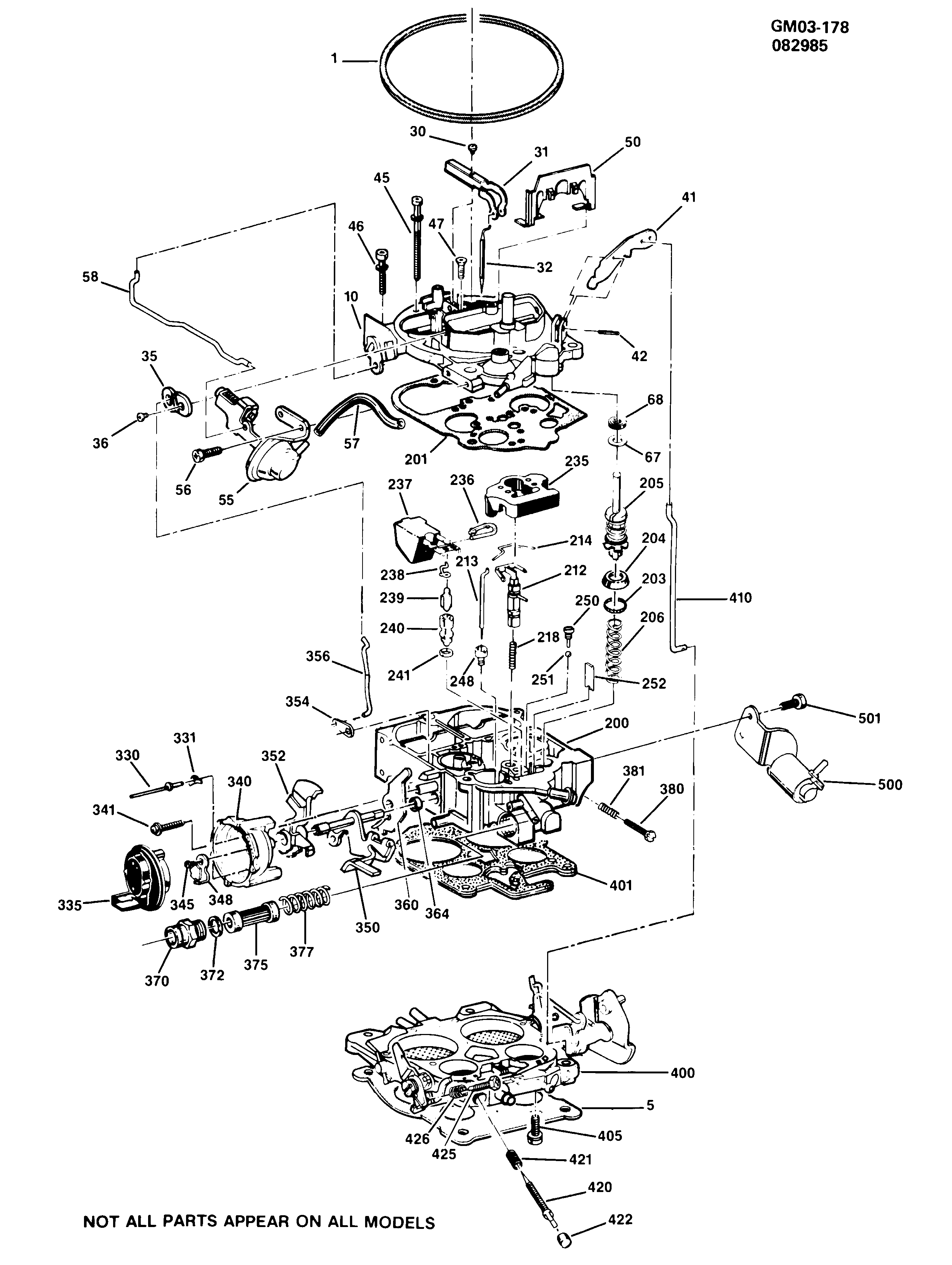 R20 PICKUP - Carburetor/quadrajet > Chevrolet EPC Online