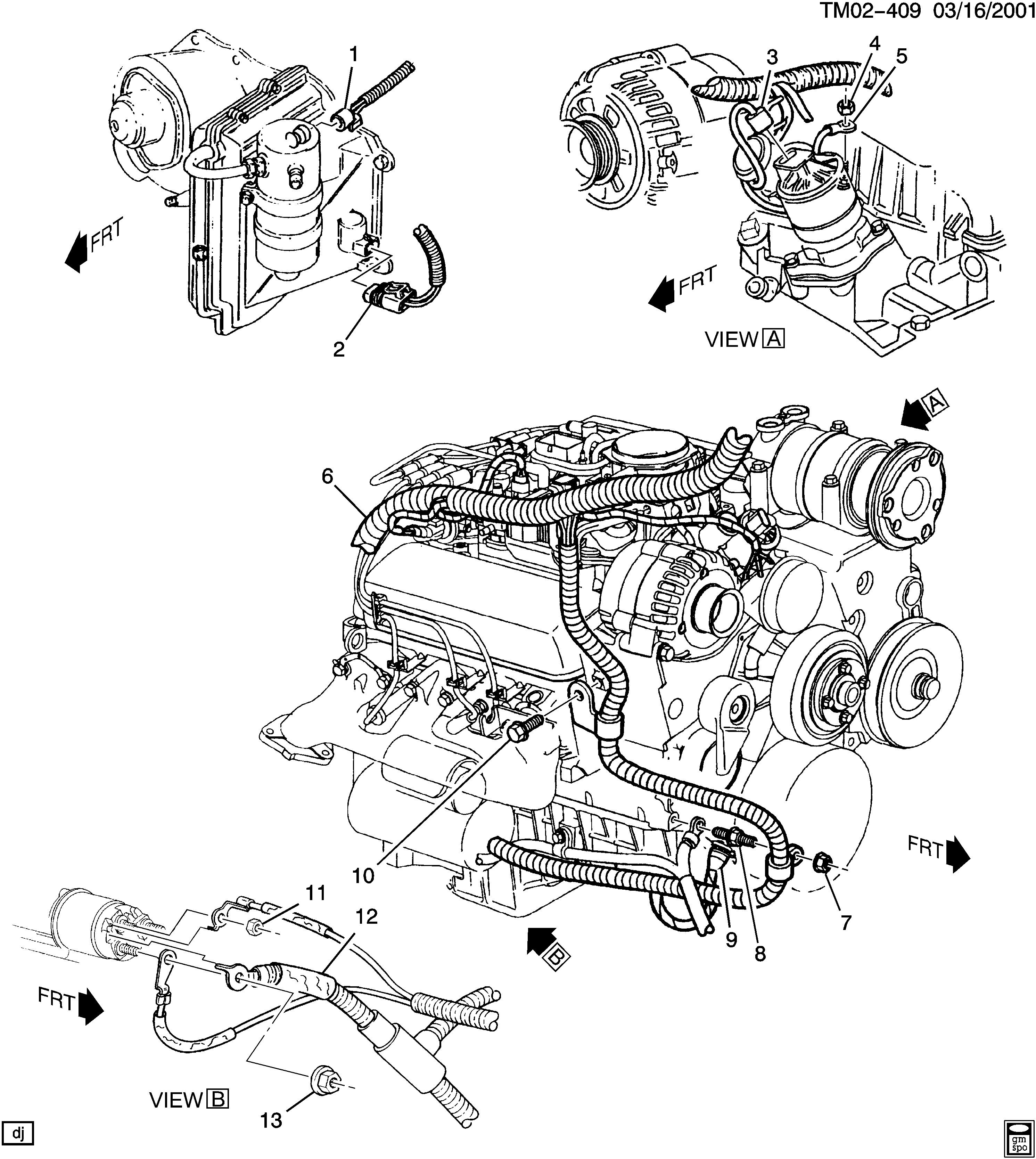 Astro 2wd Wiring Harness Engine Part 4 Rh Side Chevrolet Epc Zc Online Nemigacom