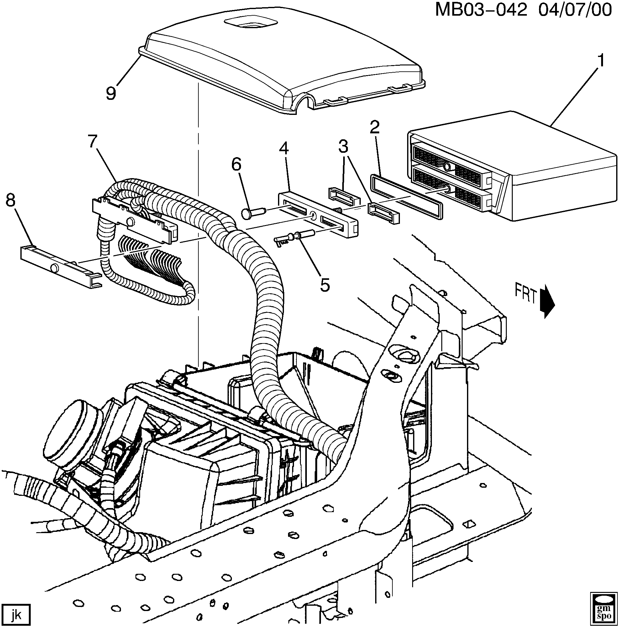 2002 buick rendezvous radio wiring diagram