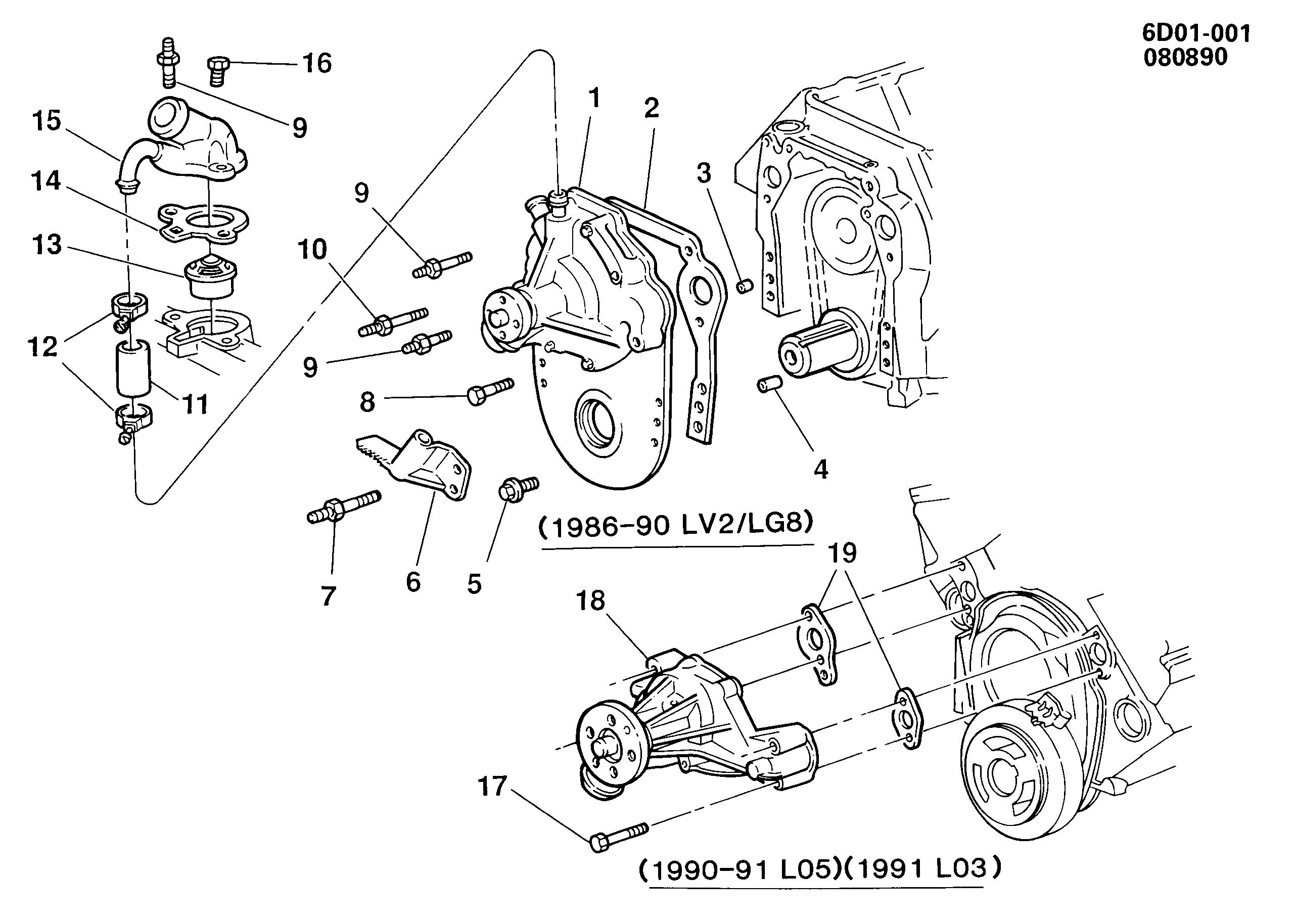 cadillac deville / spare parts catalog epc