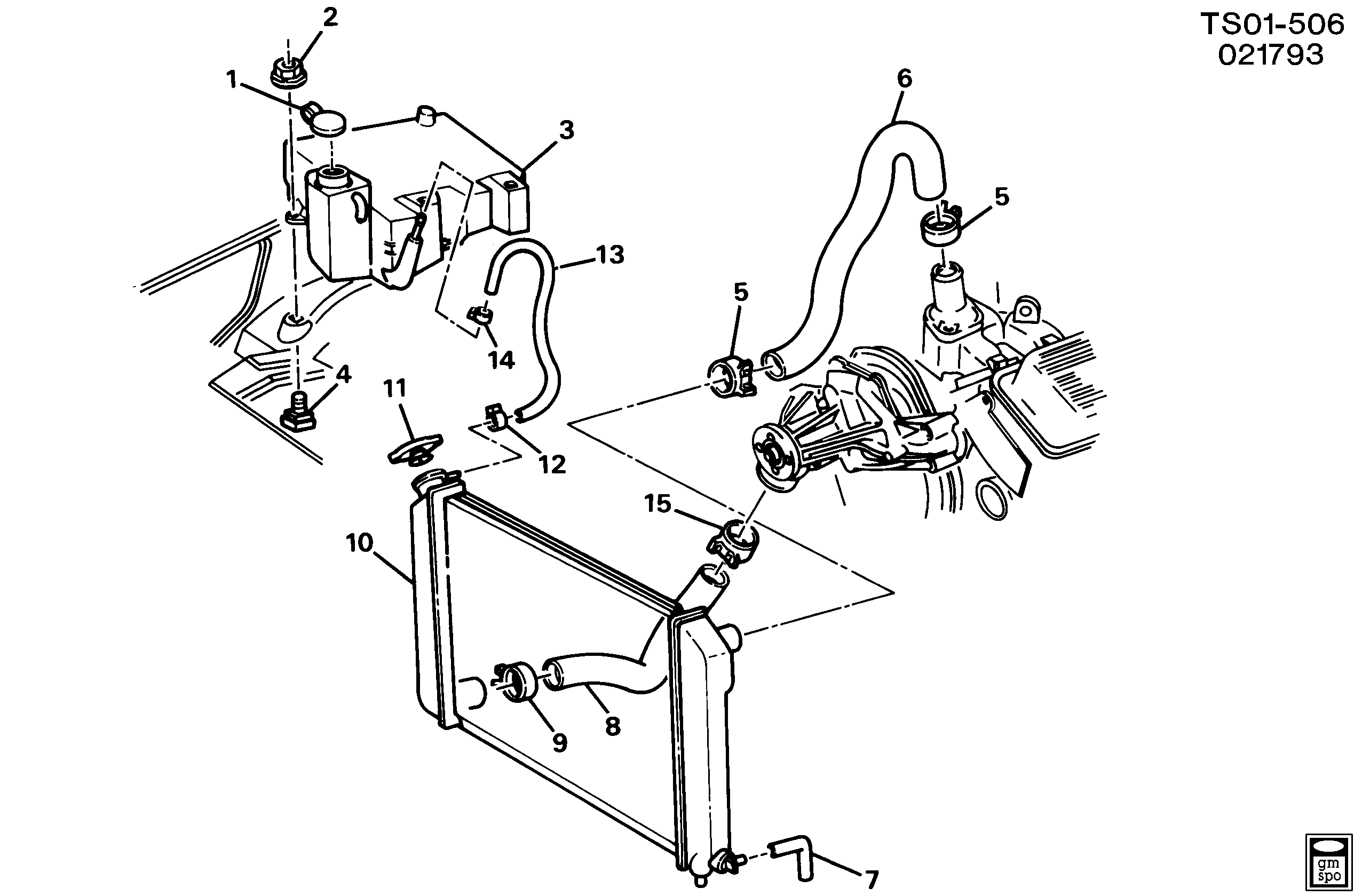 Gm 43 Engine Cooling System Diagram Trusted Wiring Diagrams Coolant Gmc Jimmy 4wd St Lb4 4 3zl35 3w U003e Epc Chevy Silverado