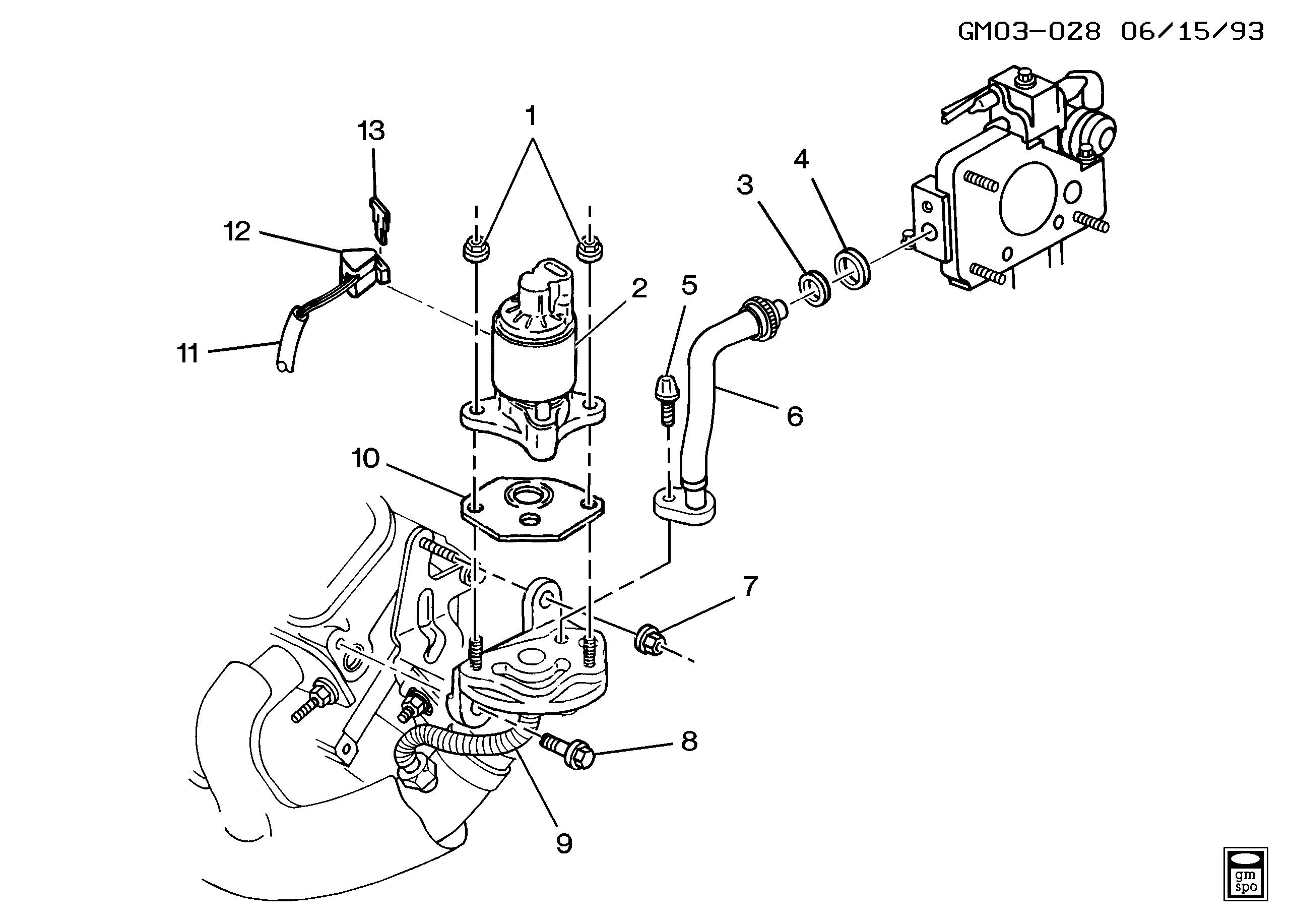 ACDelco 214-5007 EGR Valve