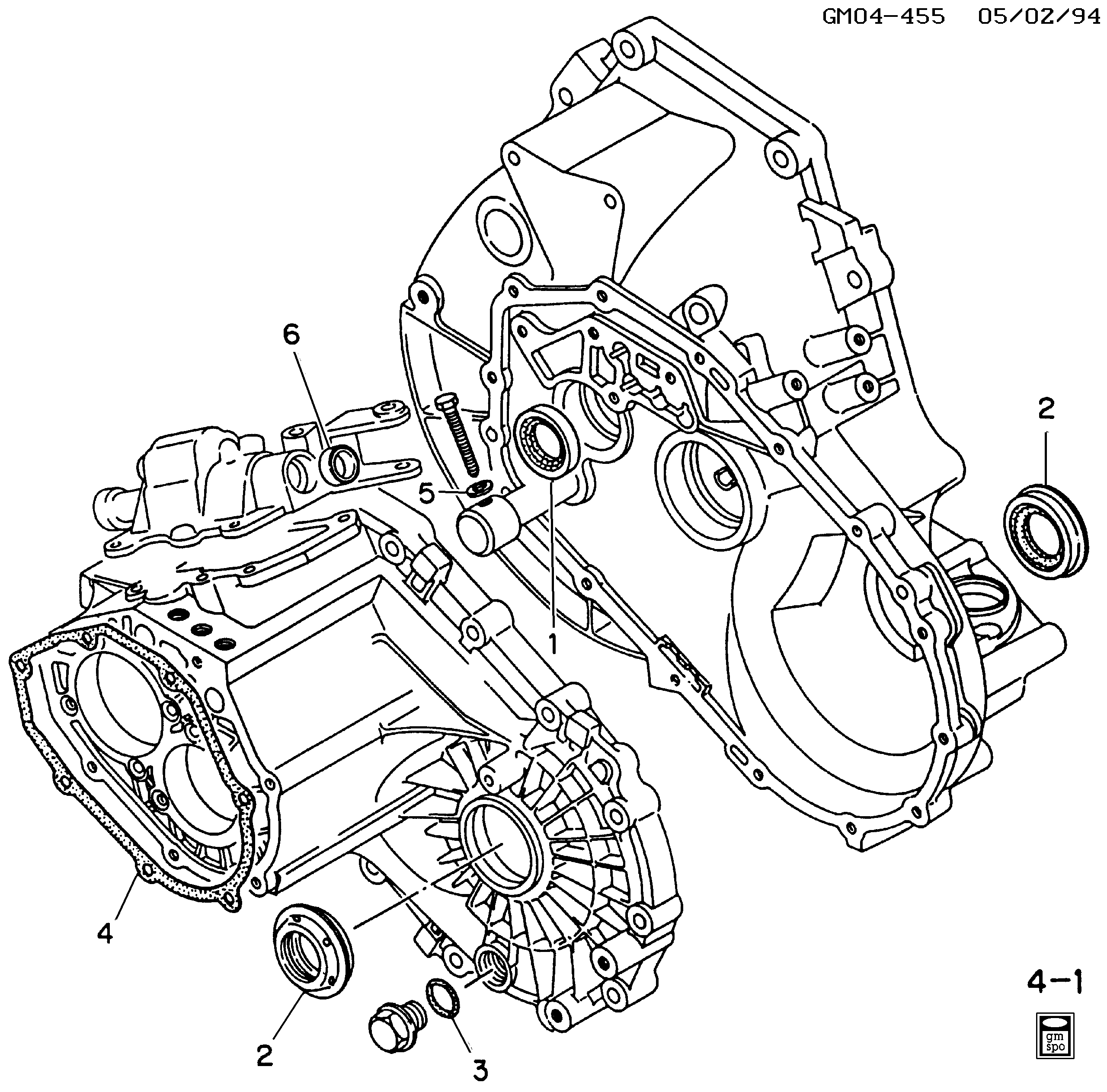 94 grand am engine diagram pontiac grand am n 5 speed manual transaxle part 4 internal  pontiac grand am n 5 speed manual