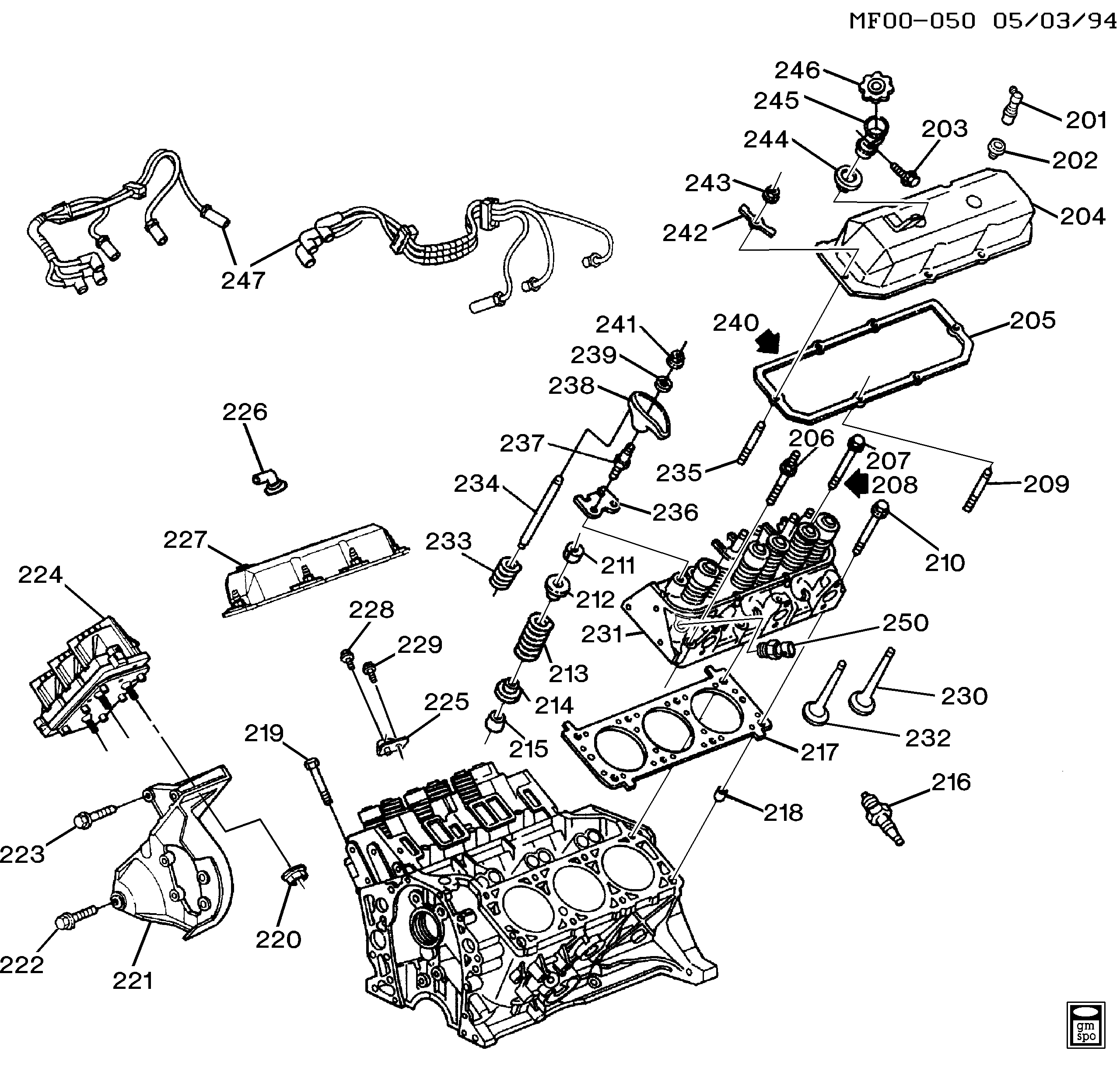 34 Chevy Engine Diagram
