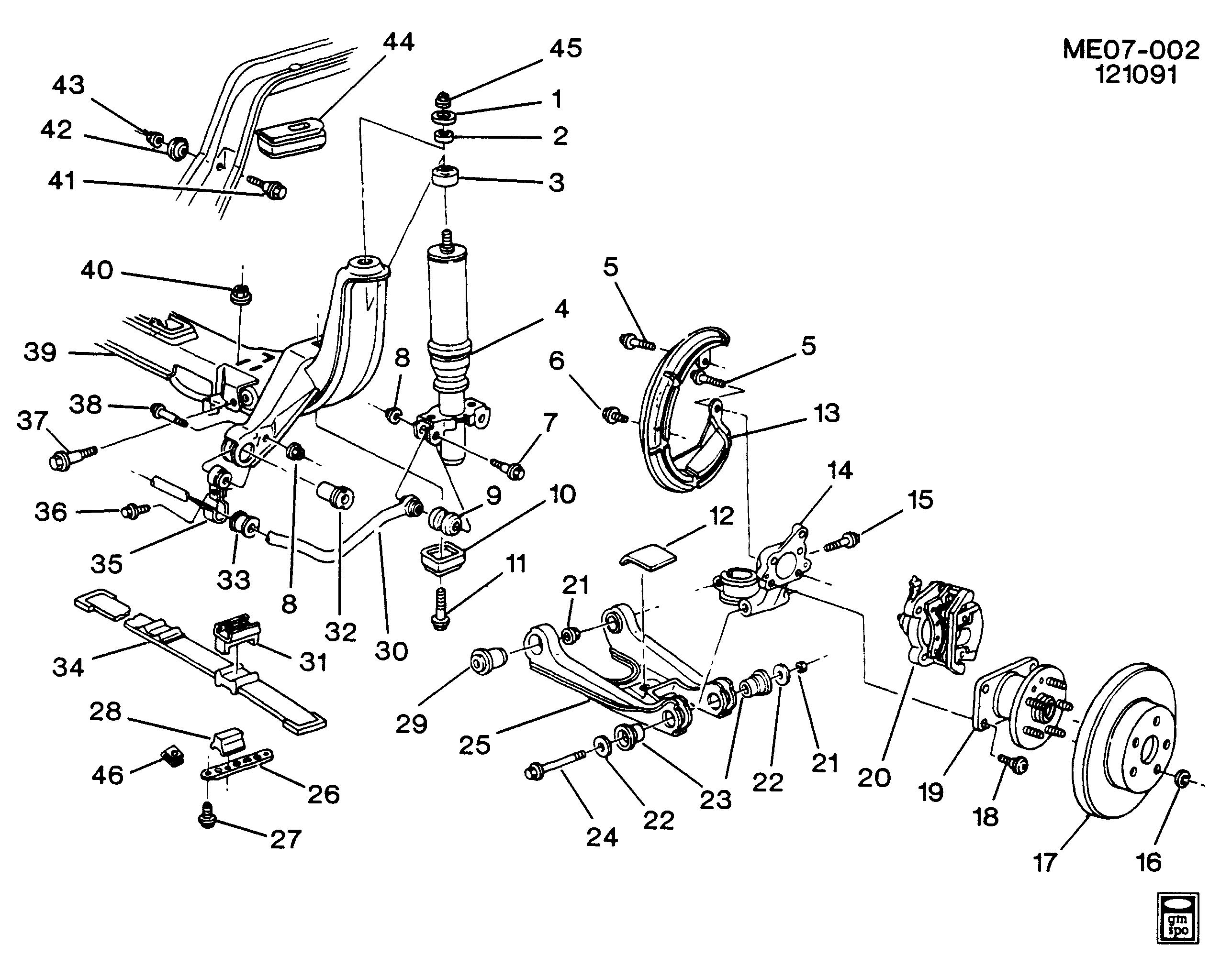 1990 Buick Reatta Suspension Diagram Electrical Wiring Diagrams Schematic E Rear U003e Epc Online Nemiga Com Porsche 356
