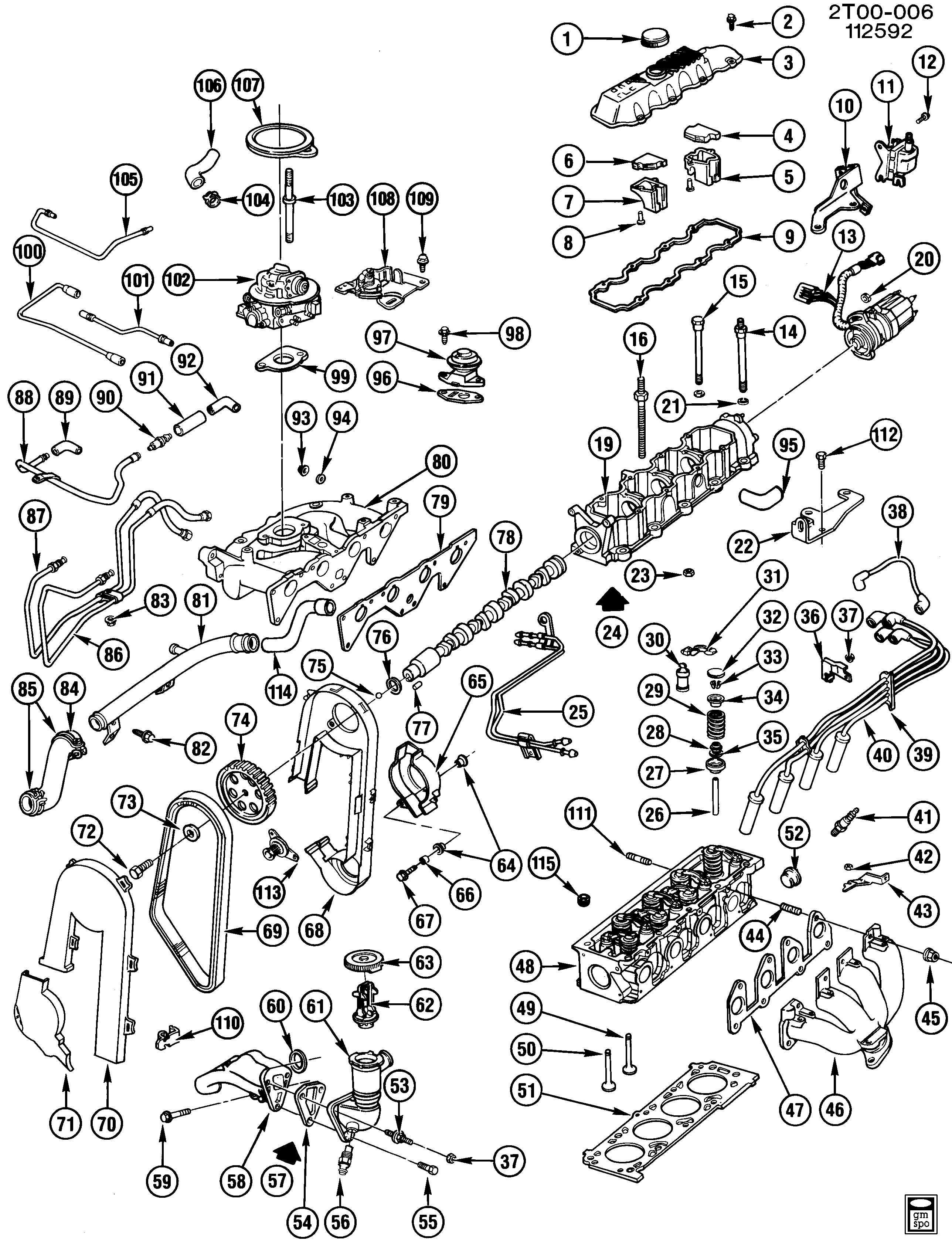pontiac lemans t engine asm 2 0l l4 part 2 lt2 2 0k epc online Buick Skylark t engine asm 2 0l l4 part 2 lt2 2 0k