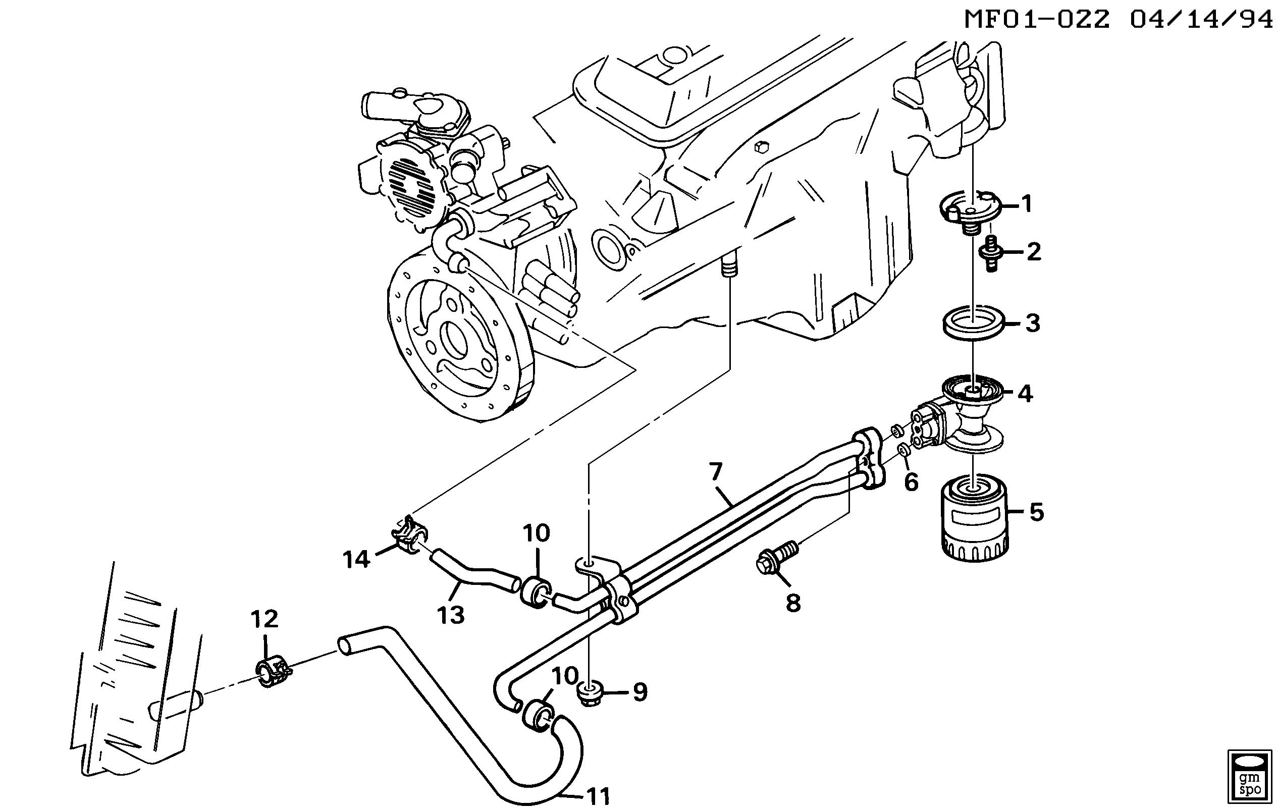 pontiac firebird / spare parts catalog epc