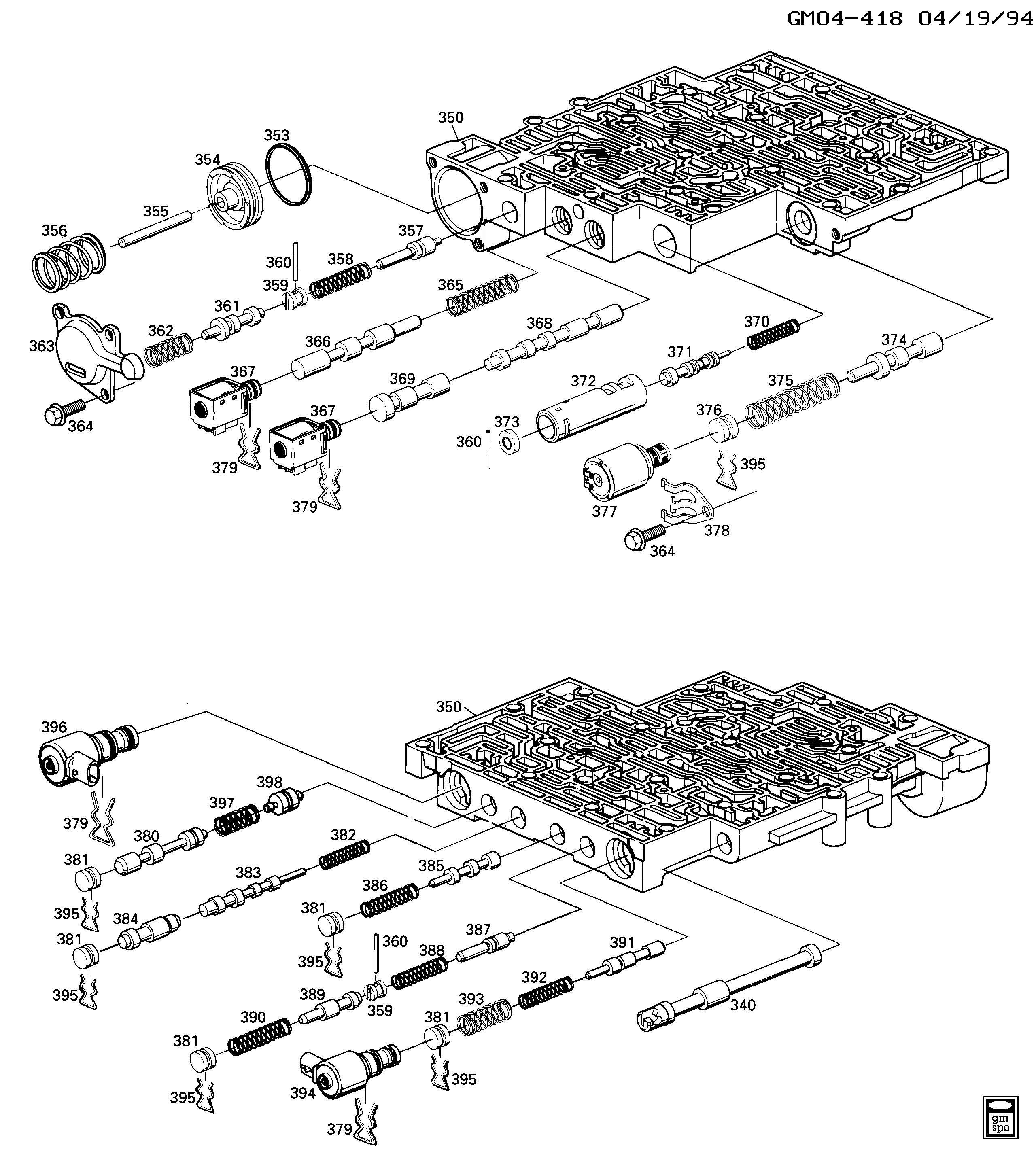 Pontiac Firebird - F AUTOMATIC TRANSMISSION (M30) PART 3