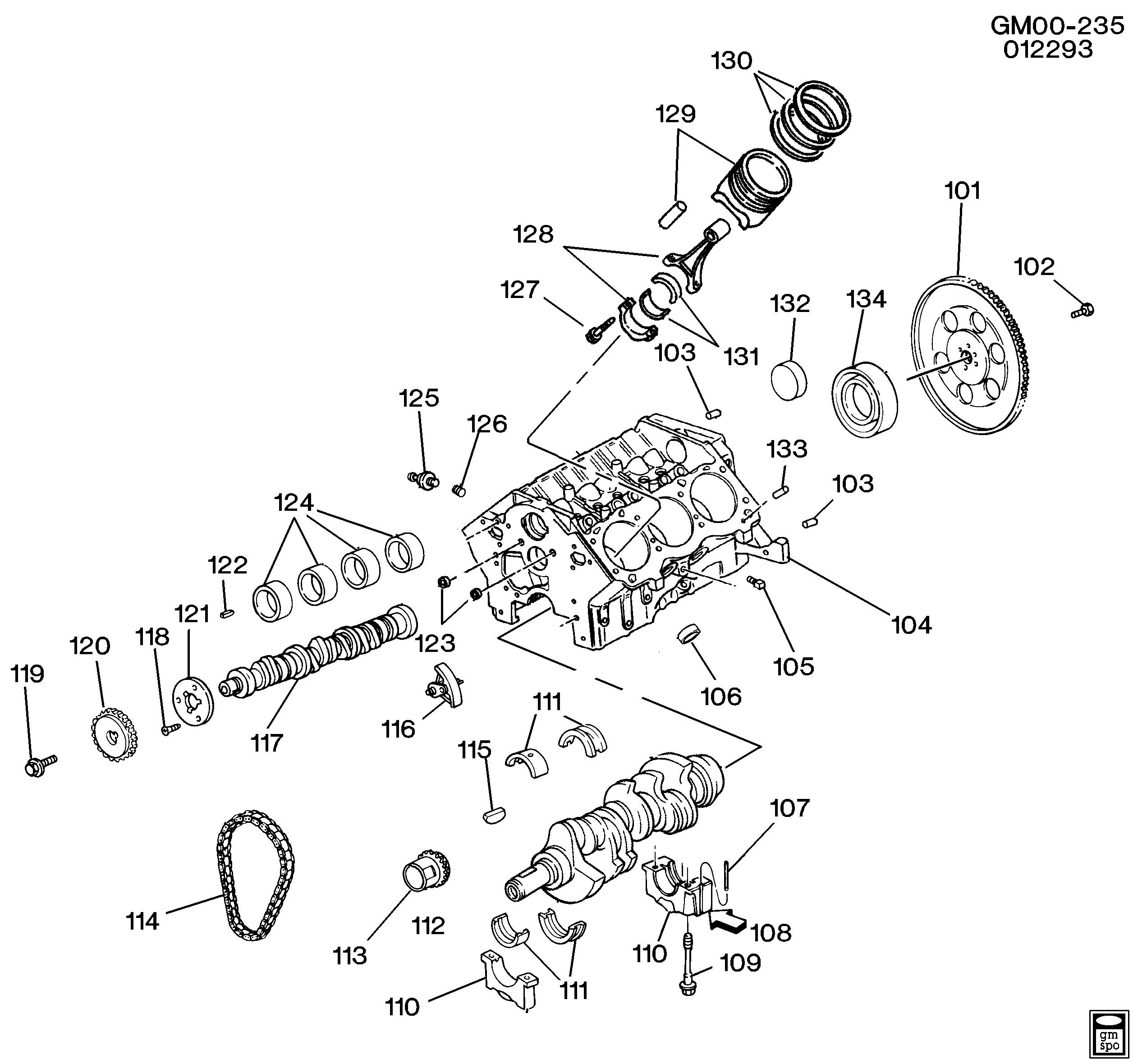 3300 V6 Engine Diagram